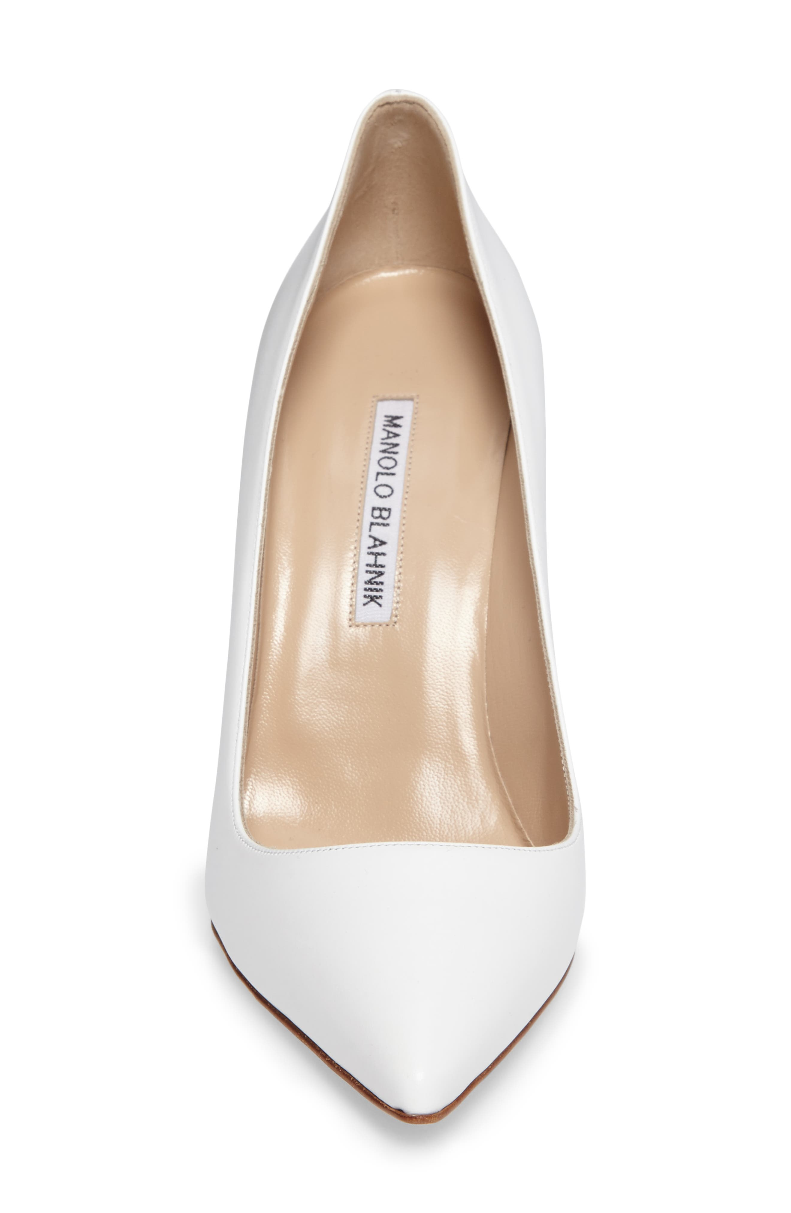 Alternate Image 7  - Manolo Blahnik 'BB' Pointy Toe Pump (Women)