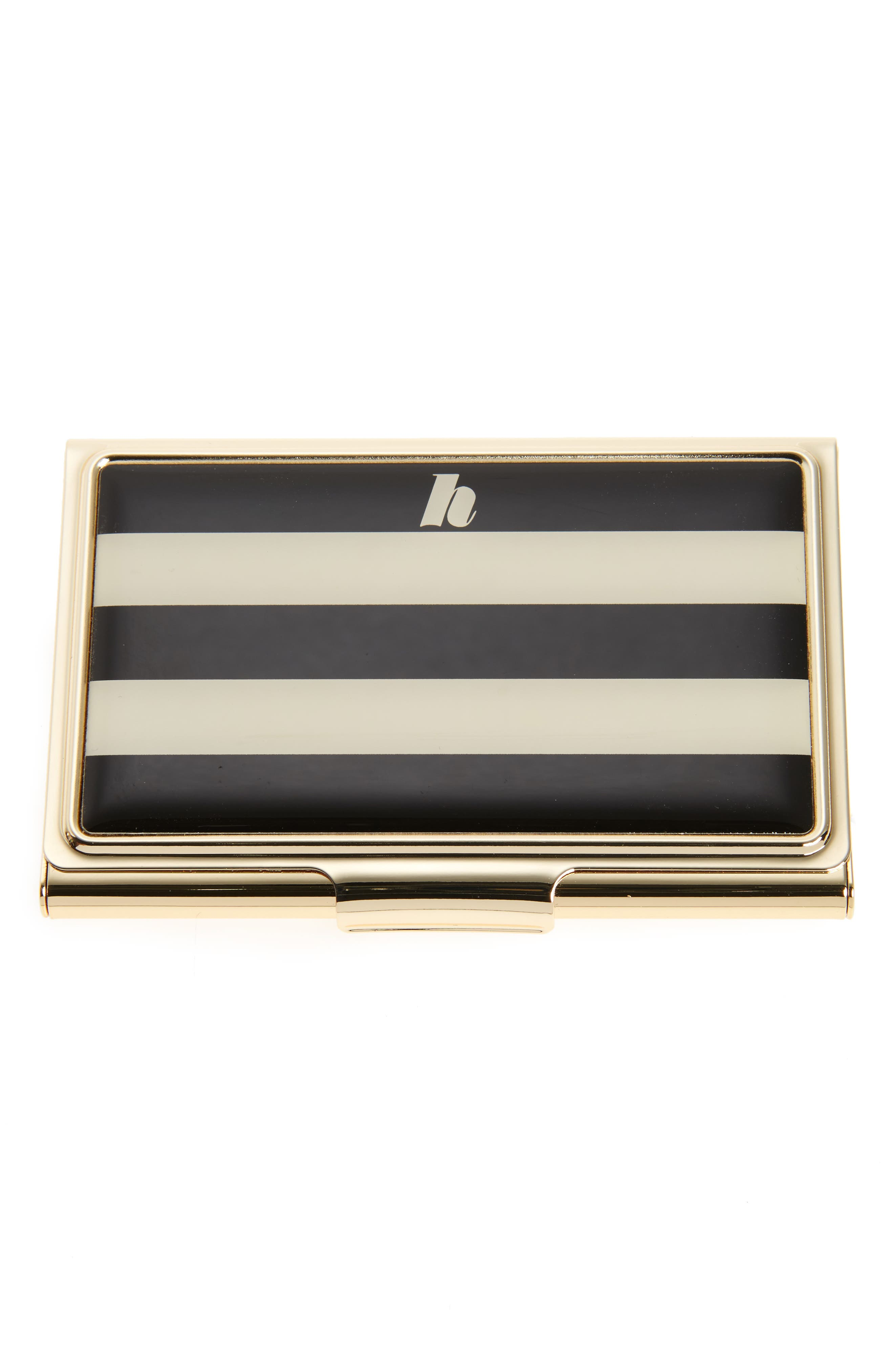 kate spade new york down to business initial card holder