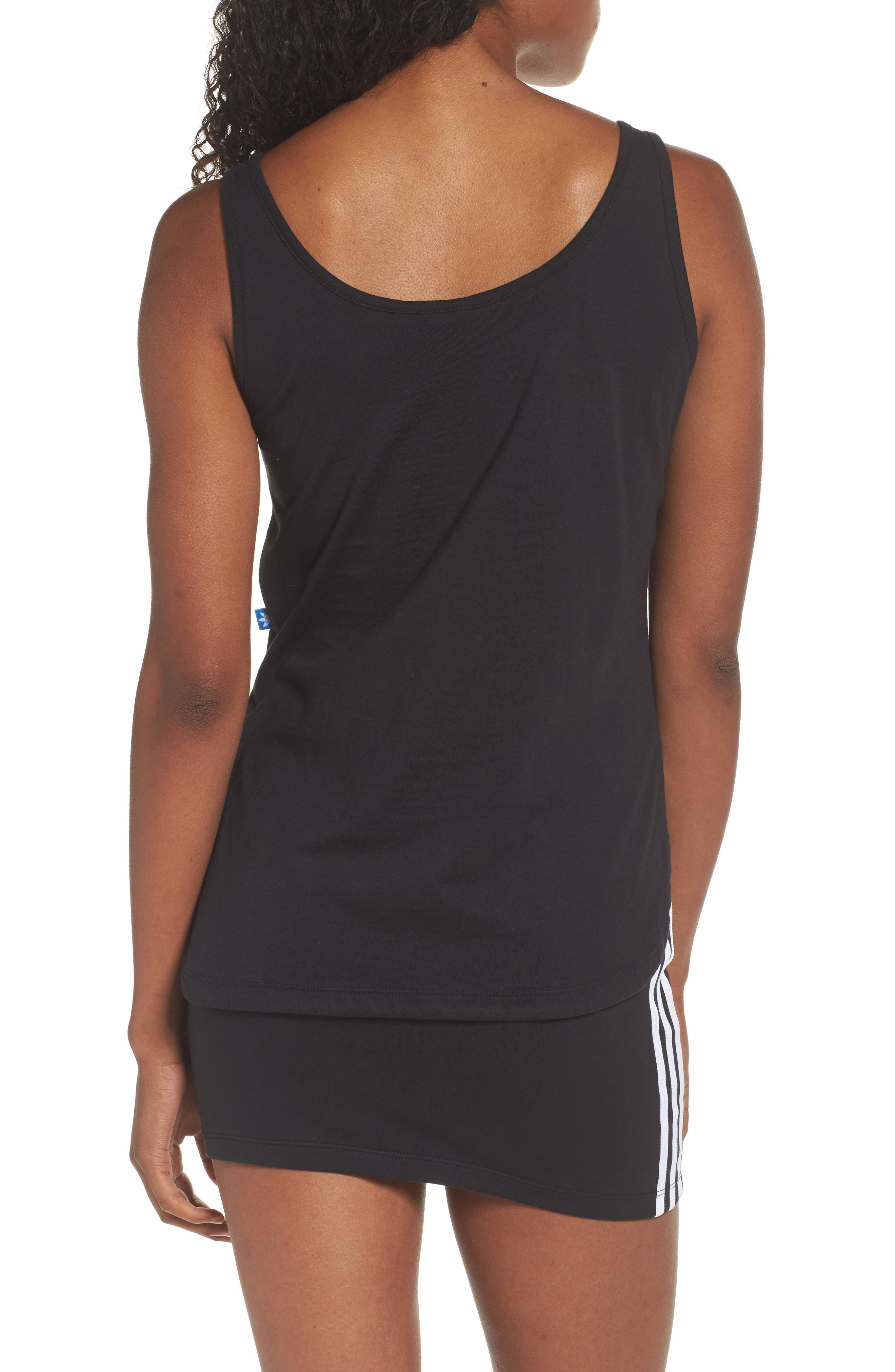Alternate Image 2  - adidas Originals Loose Crop Tank