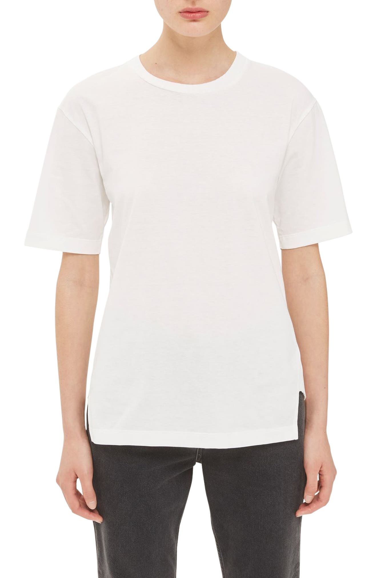 Topshop Boutique Rib Back Tee