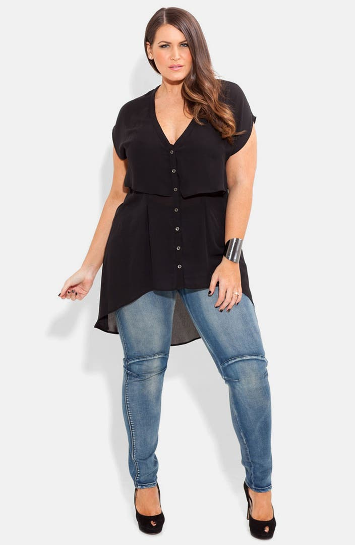 Plus size and curvy fashion for women in all plus sizes. Buy women's plus size clothing including dresses, tops, bottoms, and lingerie. Miss Stressed Denim Jacket - Black Denim. $ USD. NEW. NEW. QUICK VIEW. The Clear Choice Fanny Pack - Clear.