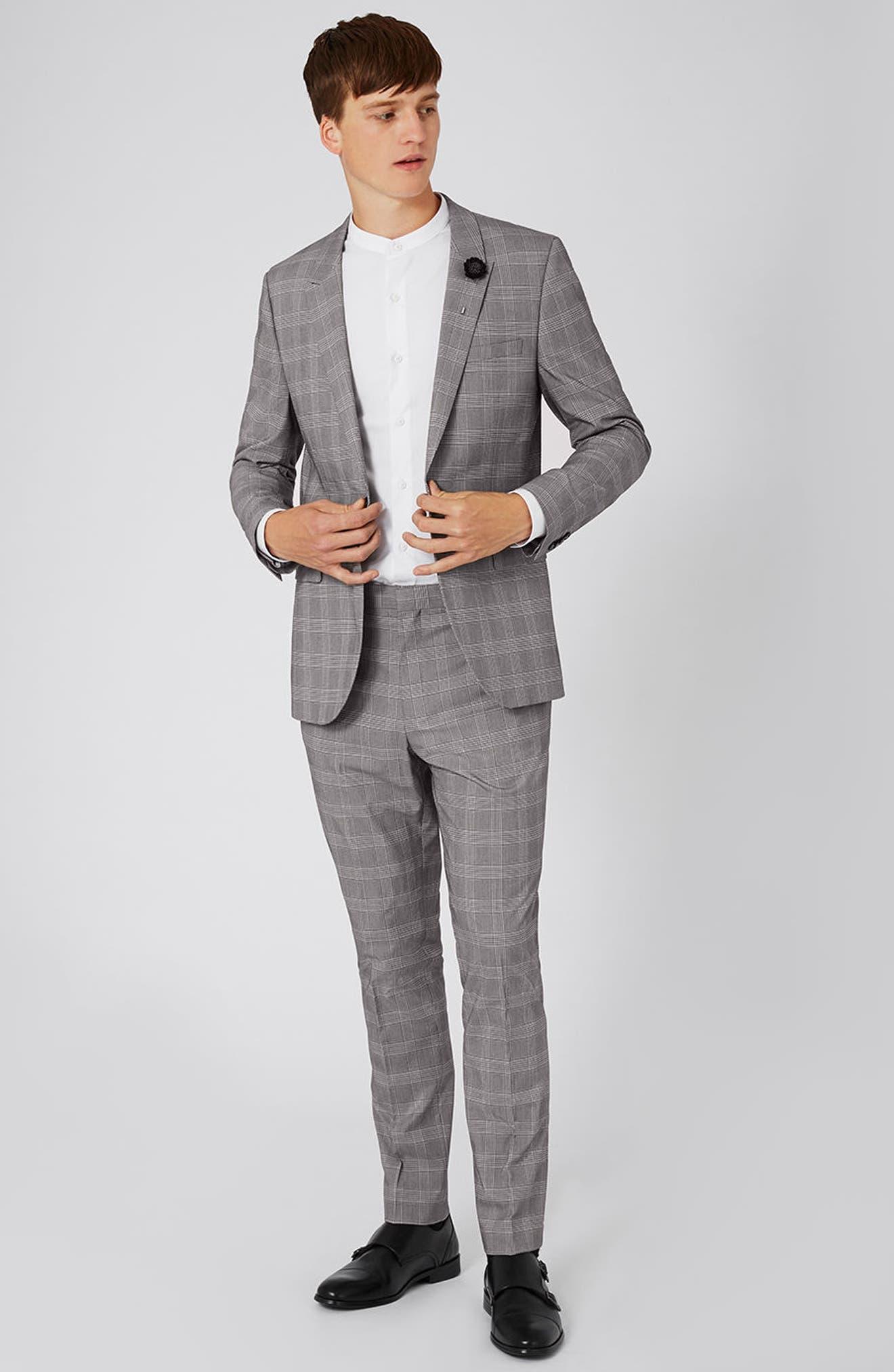Topman Skinny Fit Suit