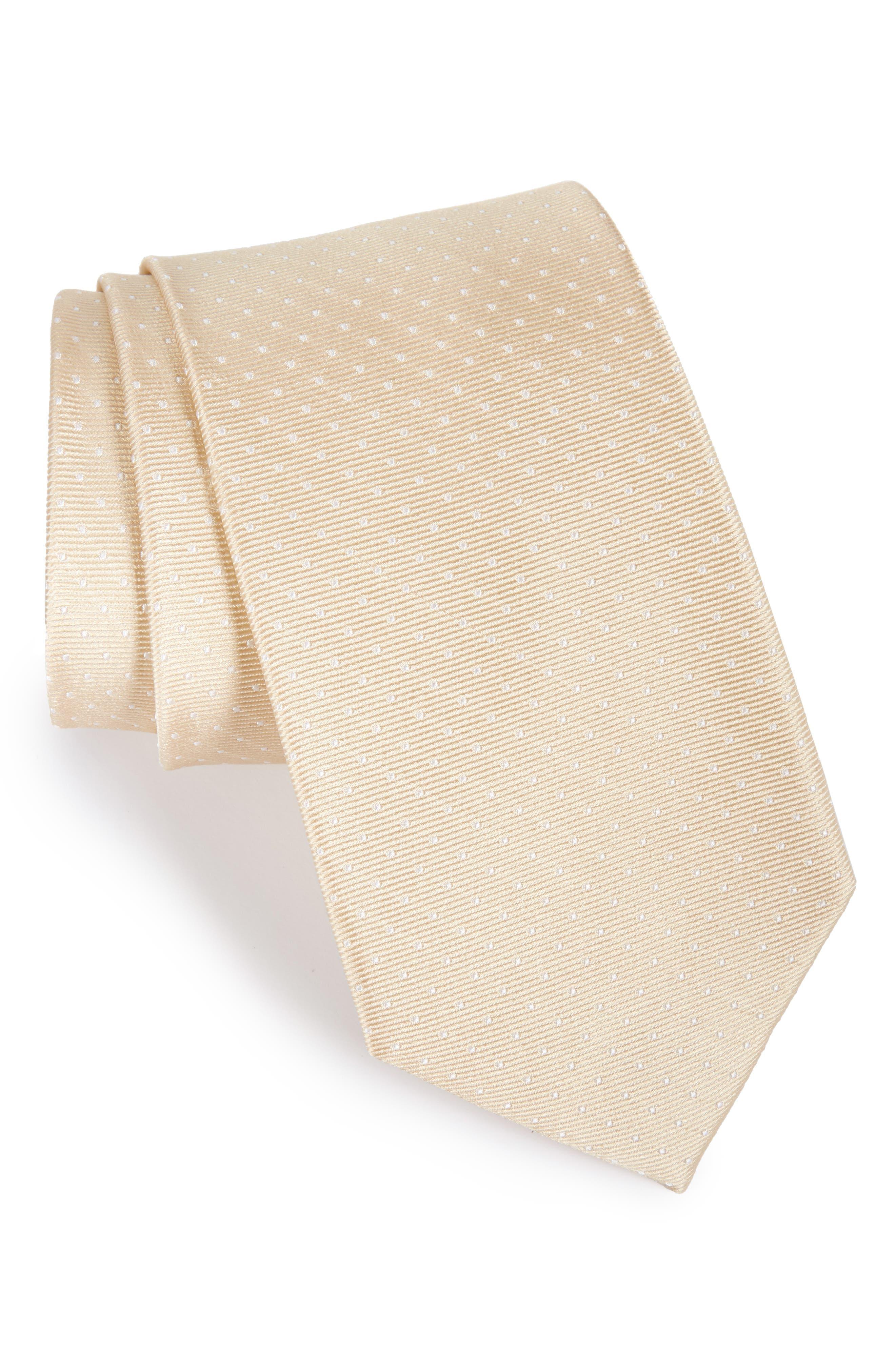 The Tie Bar Mini Dots Silk Tie