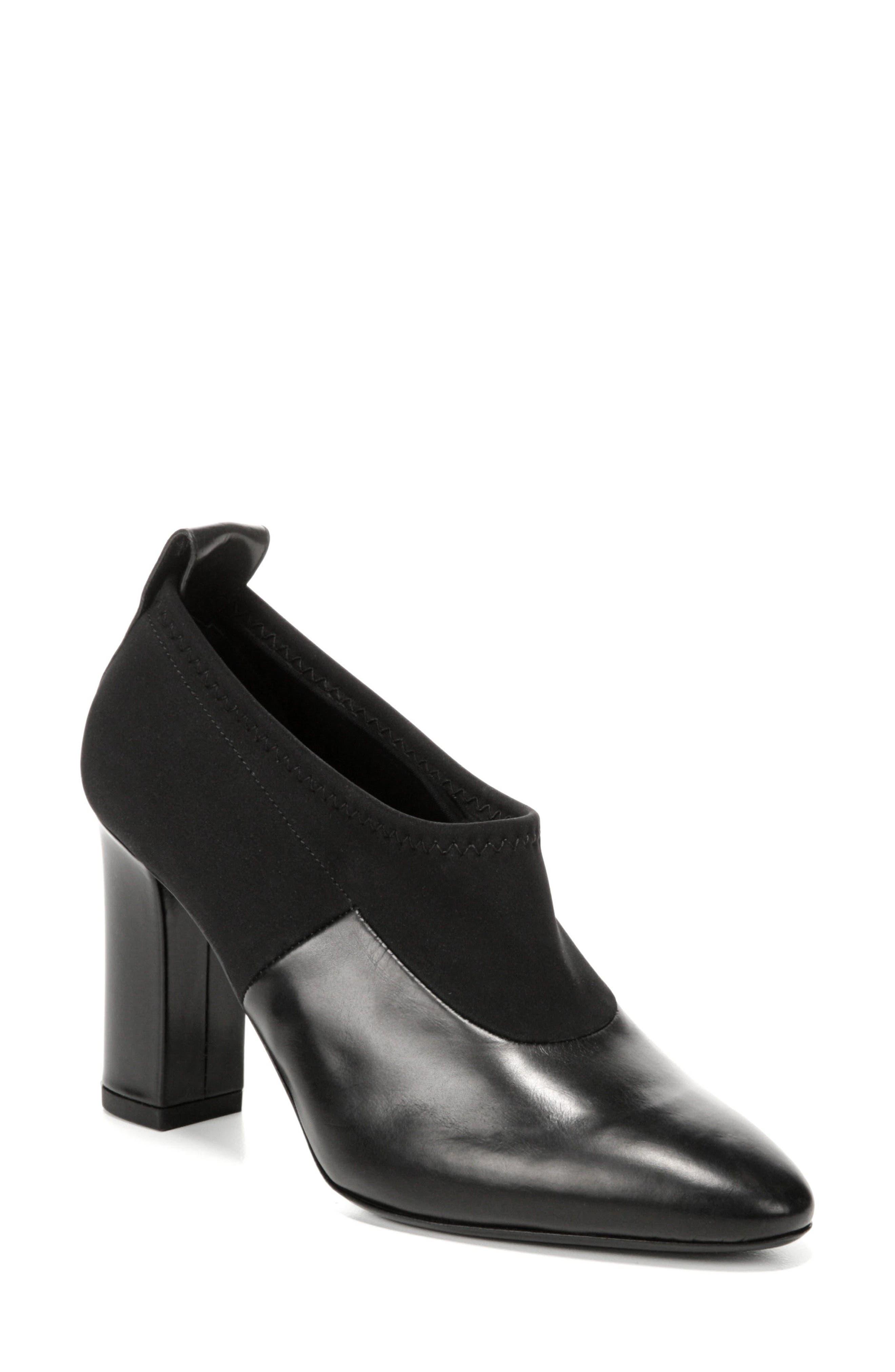 Via Spiga Bayne Block Heel Bootie (Women)