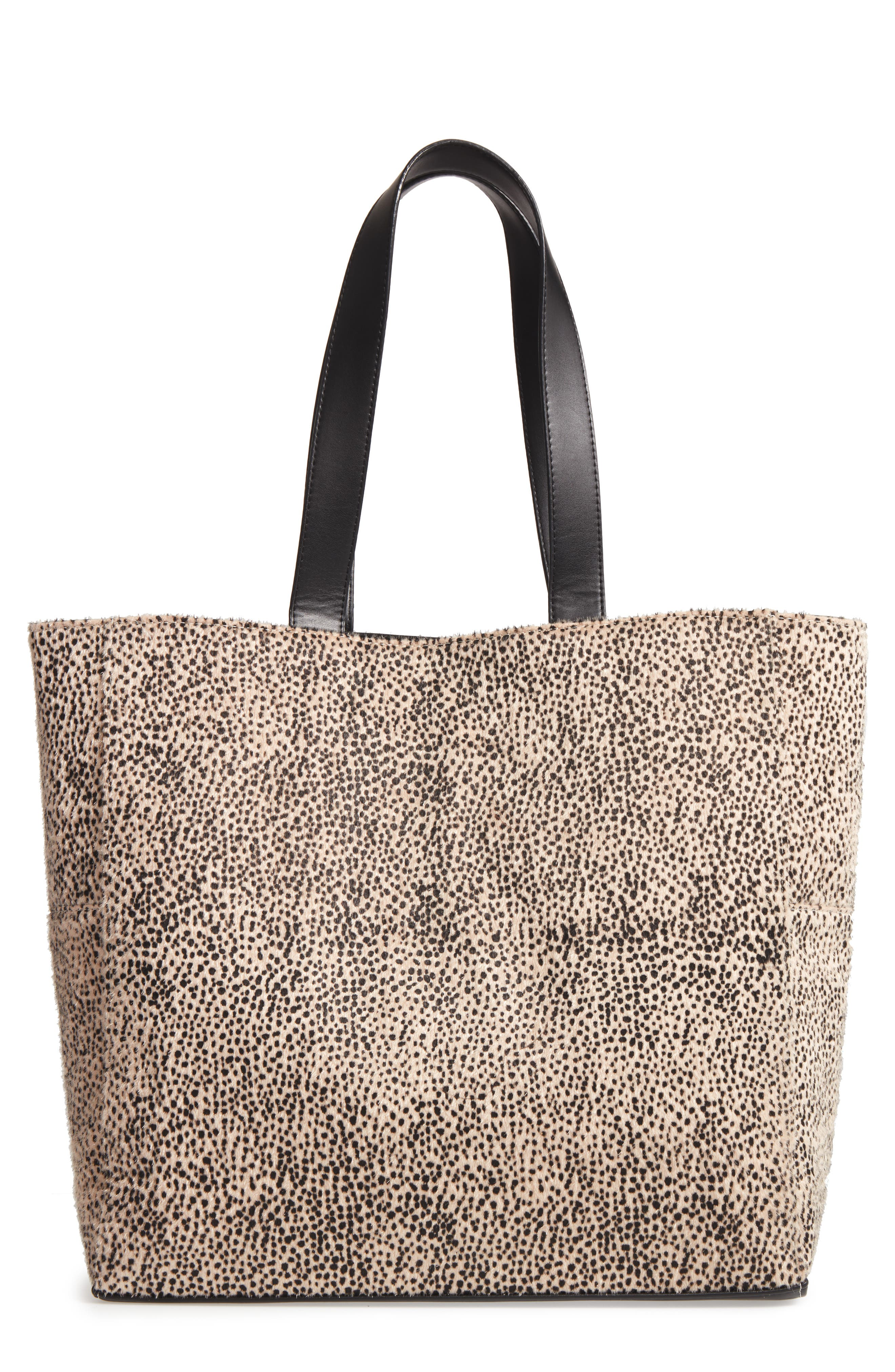 Amuse Society Carry On Faux Calf Hair Tote