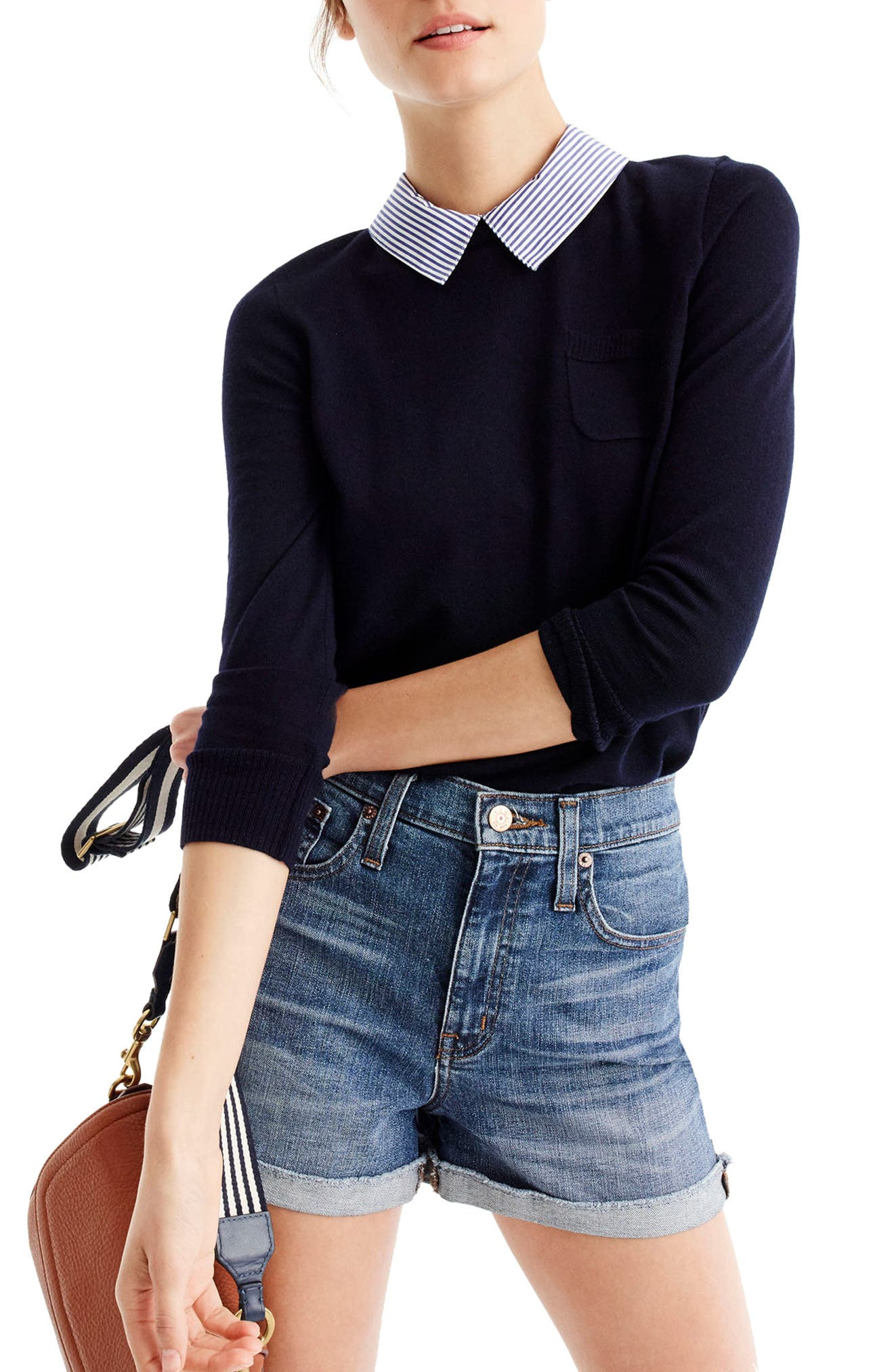 J.Crew Collared Tippi Sweater