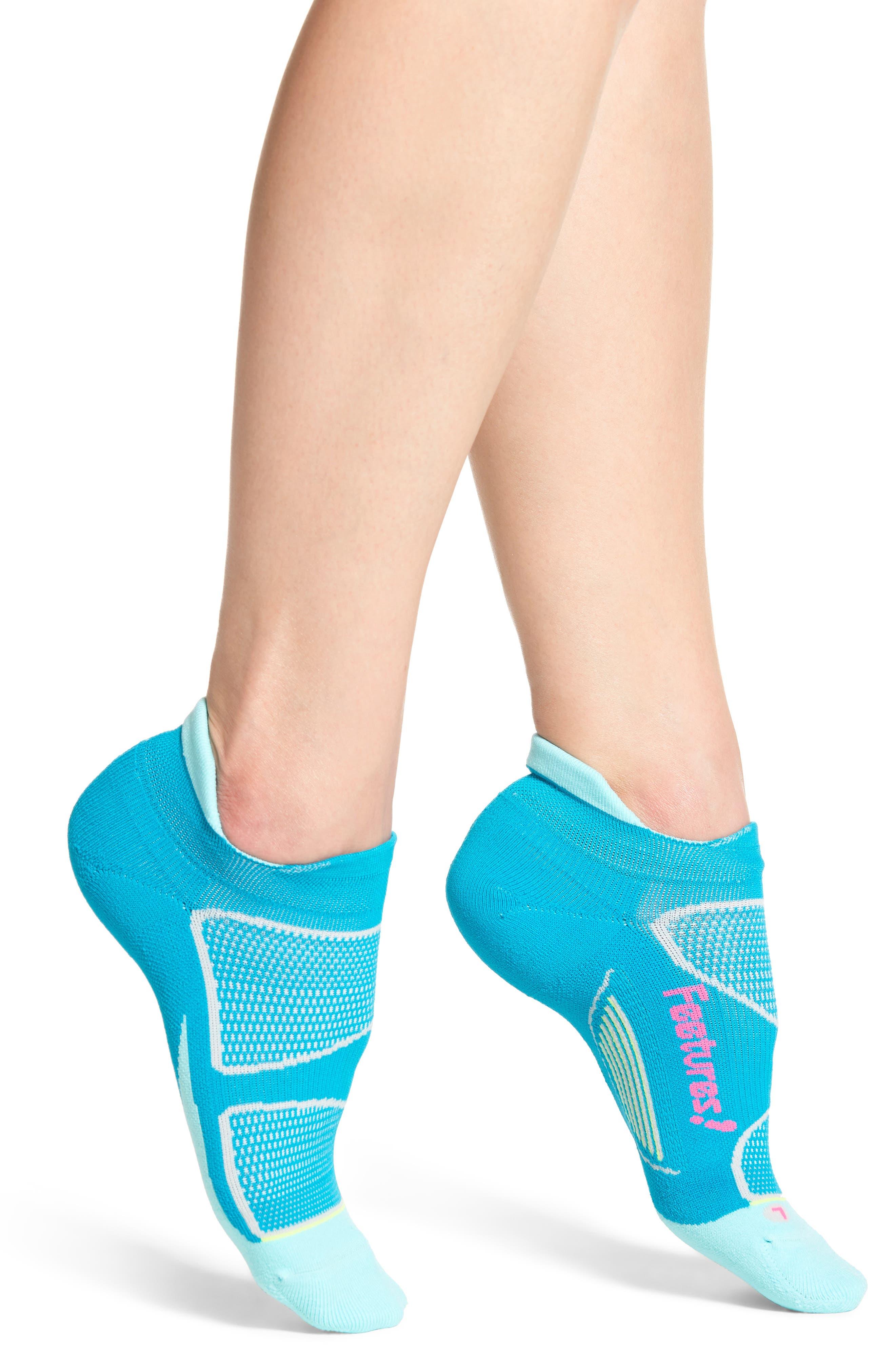 Feetures Elite Light No-Show Running Socks