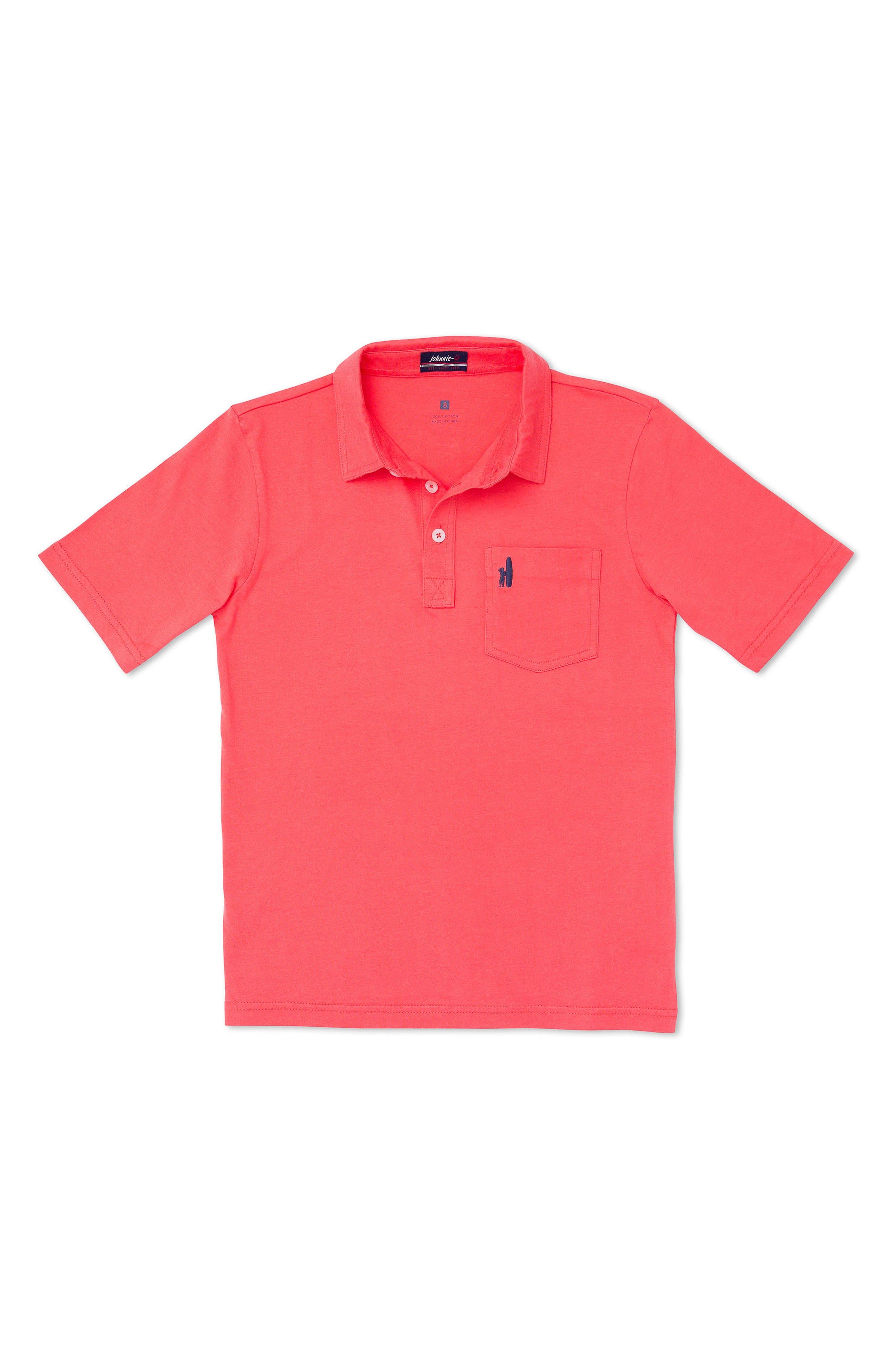 Johnnie-O Original Solid Pocket Polo (Little Boys & Big Boys)