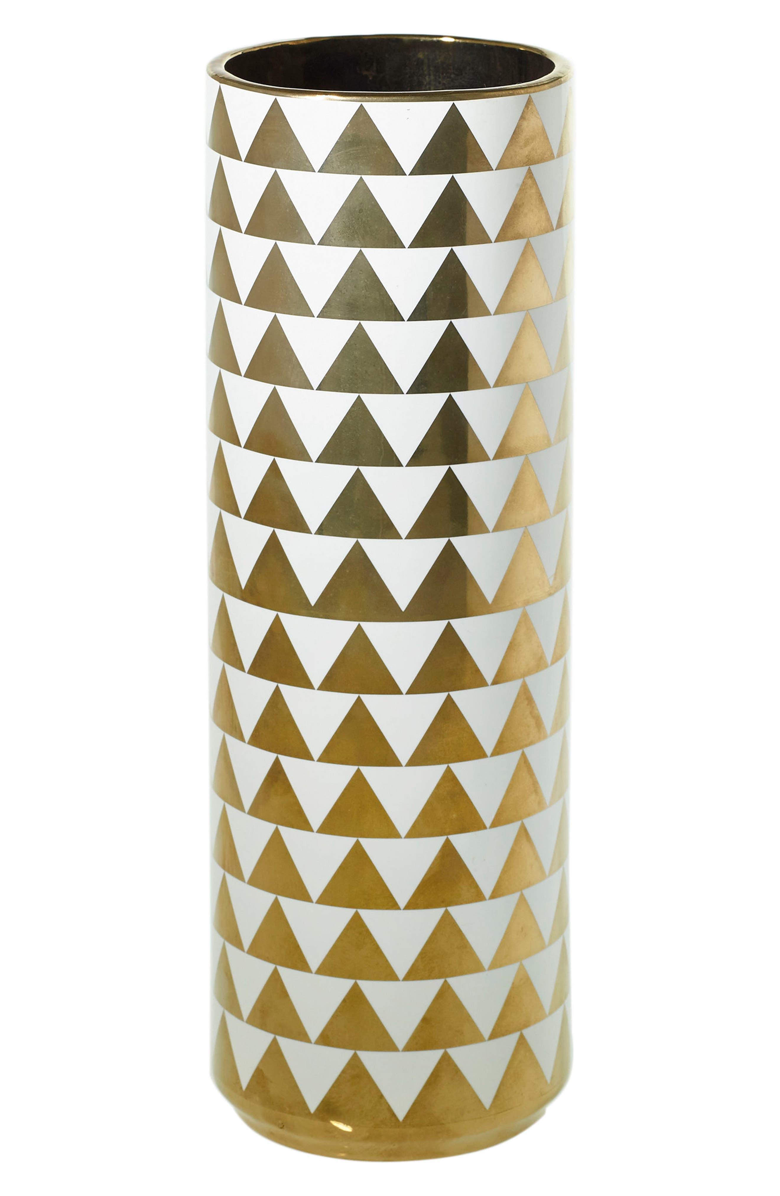 Accent Decor Spade Ceramic Vase