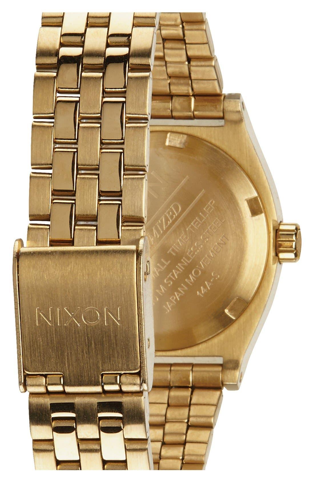 Alternate Image 2  - Nixon 'The Small Time Teller' Bracelet Watch, 26mm