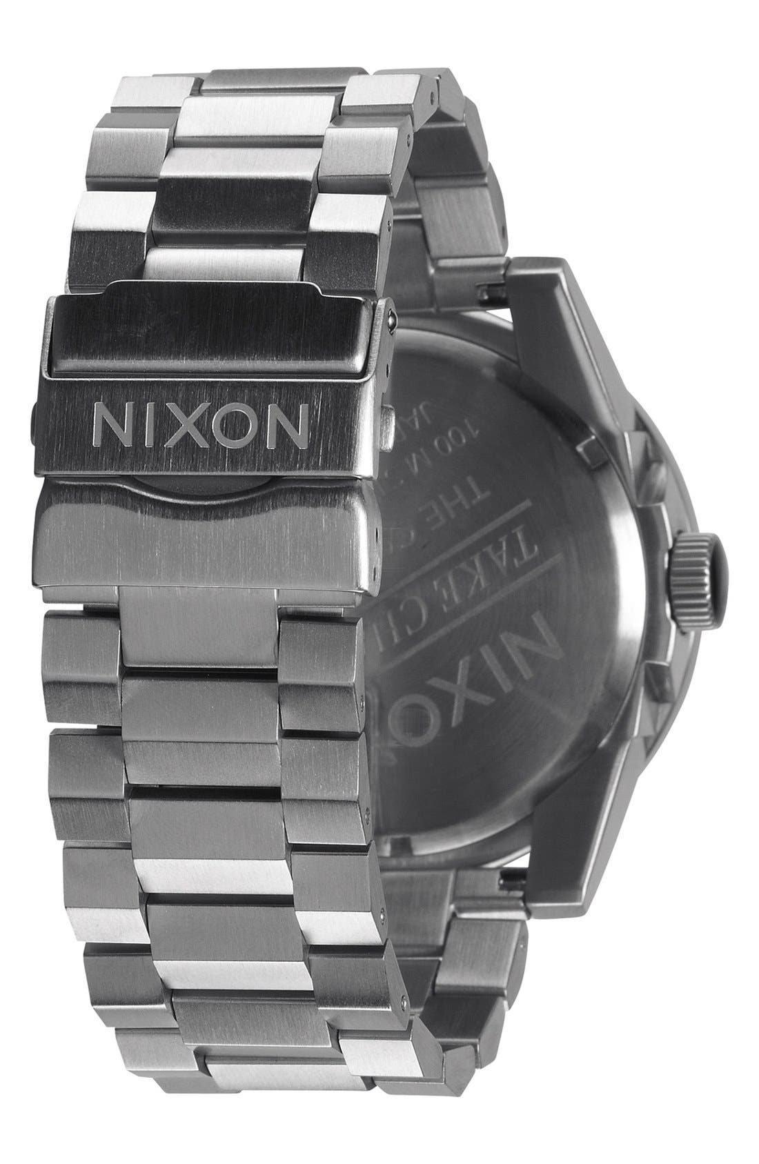 Alternate Image 2  - Nixon 'The Corporal' Bracelet Watch, 48mm