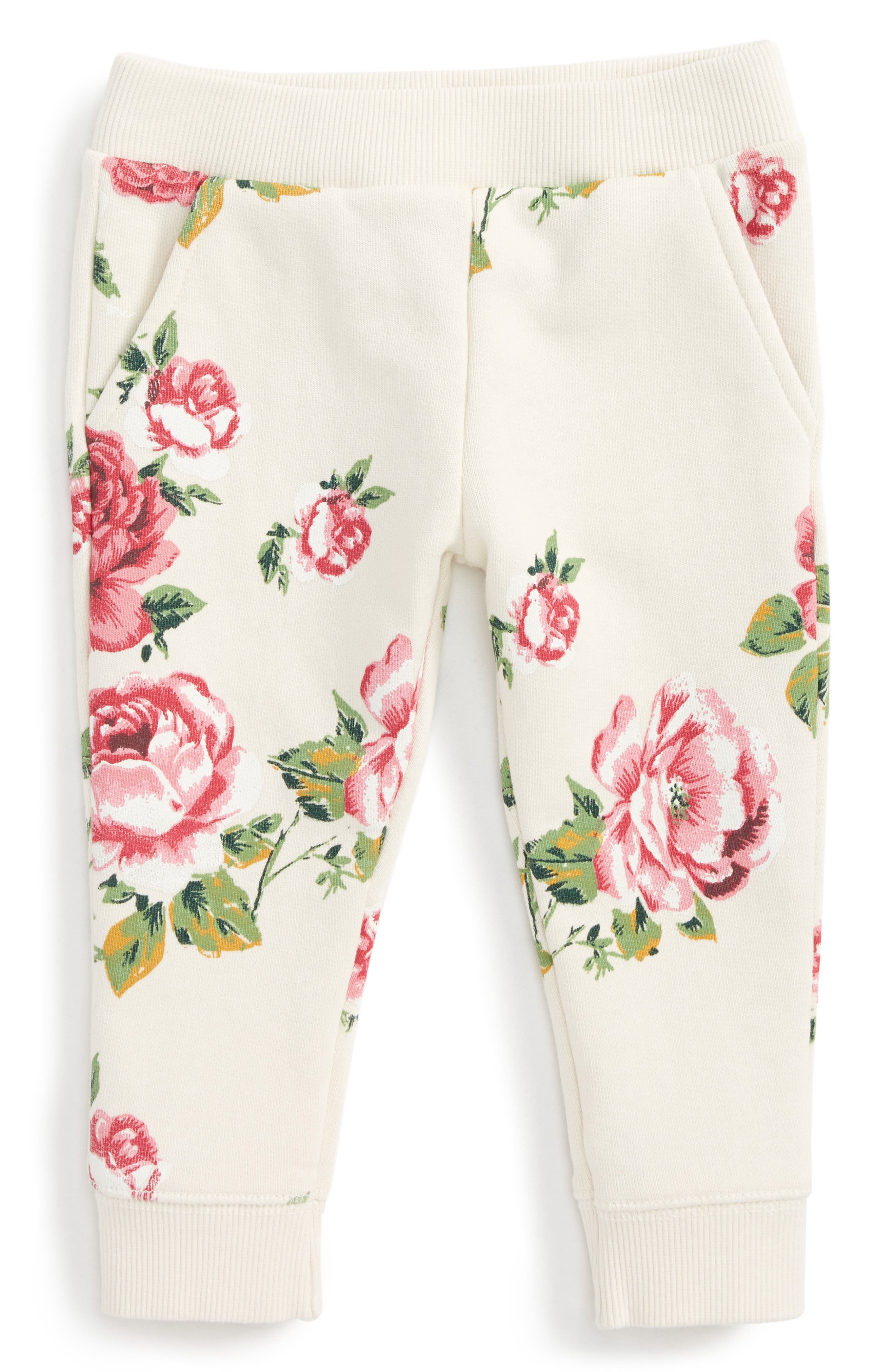 Peek Floral Jogger Pants (Baby Girls)