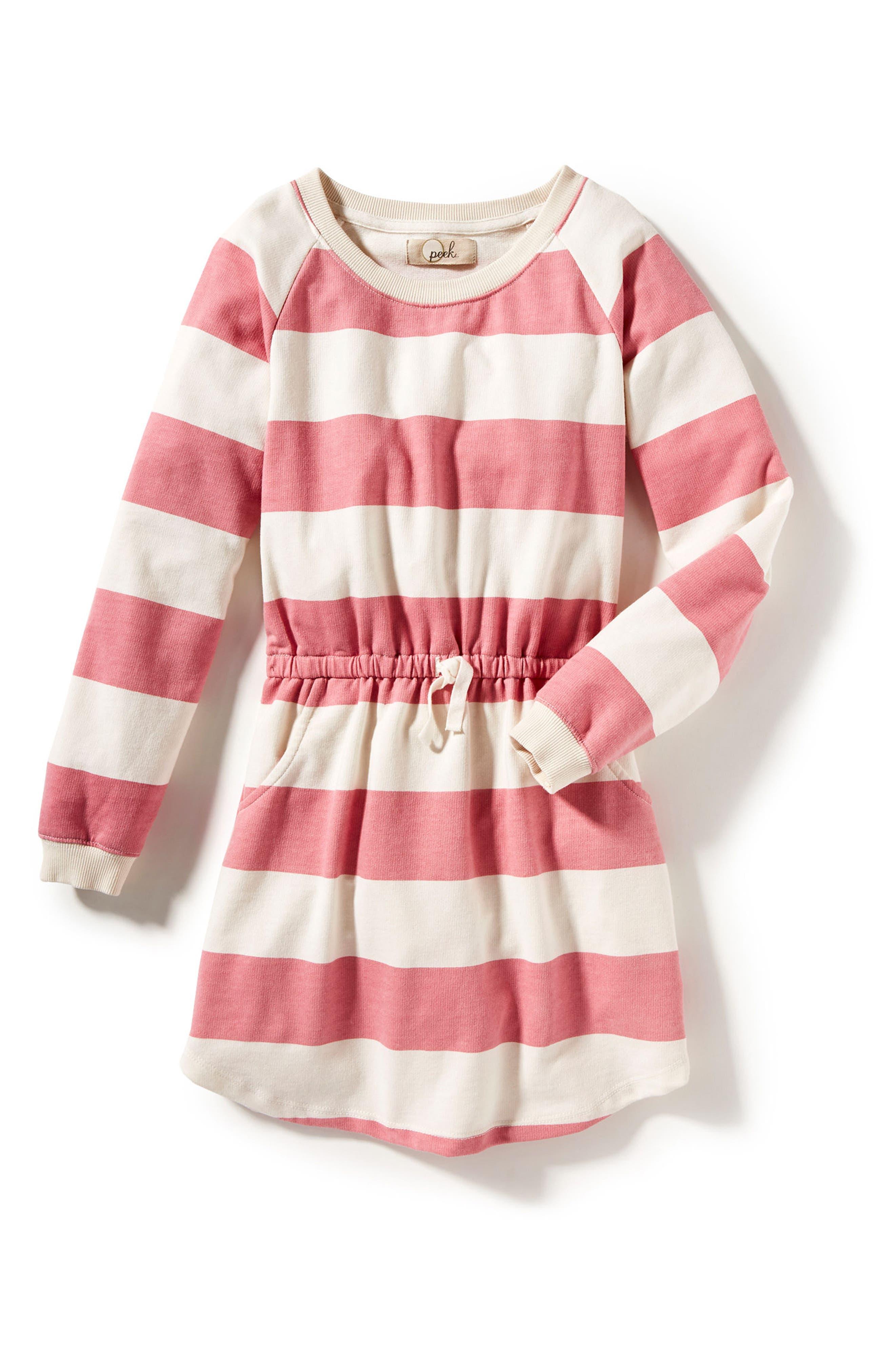 Peek Brynne Stripe Dress (Toddler Girls, Little Girls & Big Girls)