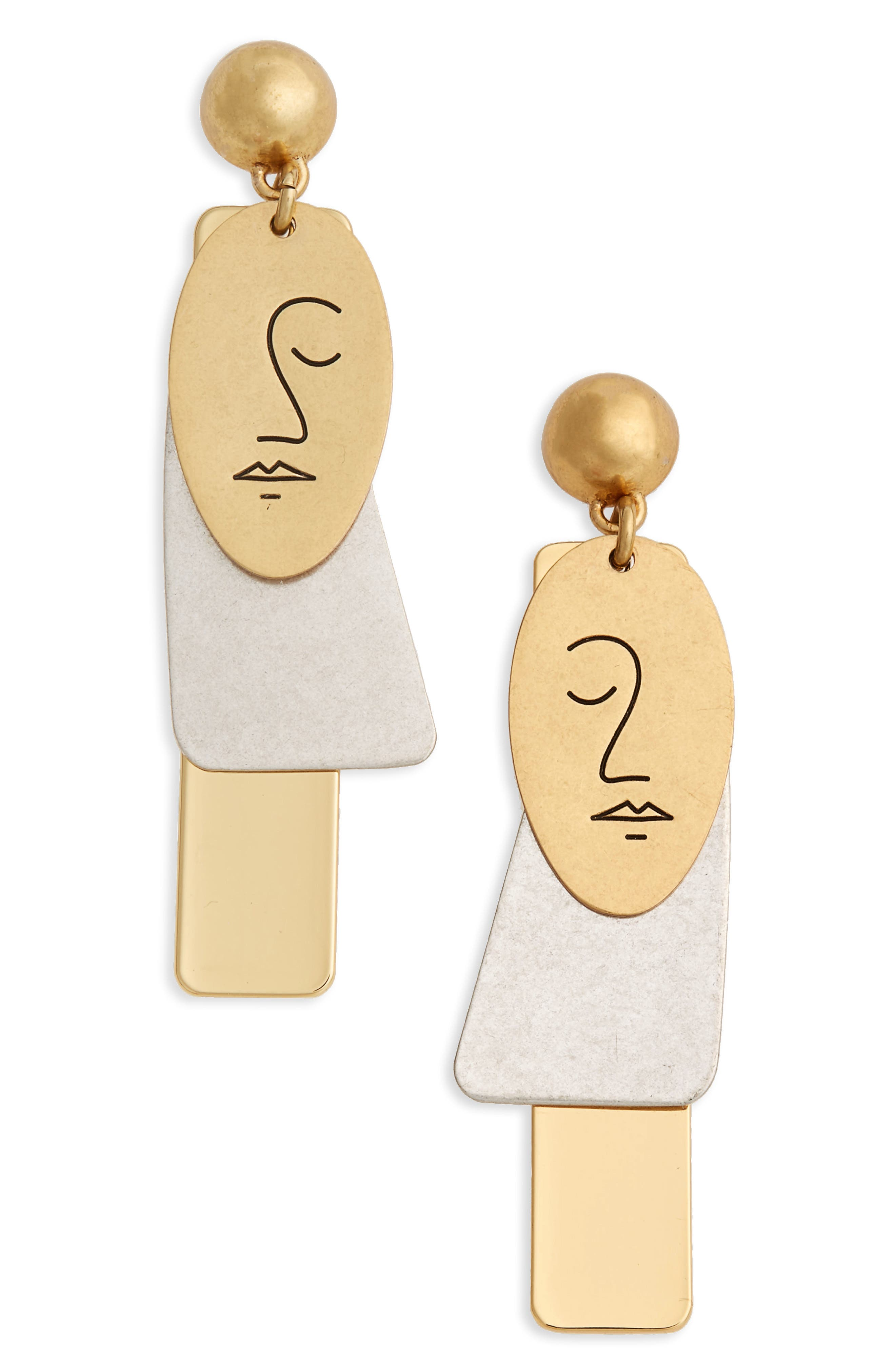 Madewell Face It Earrings