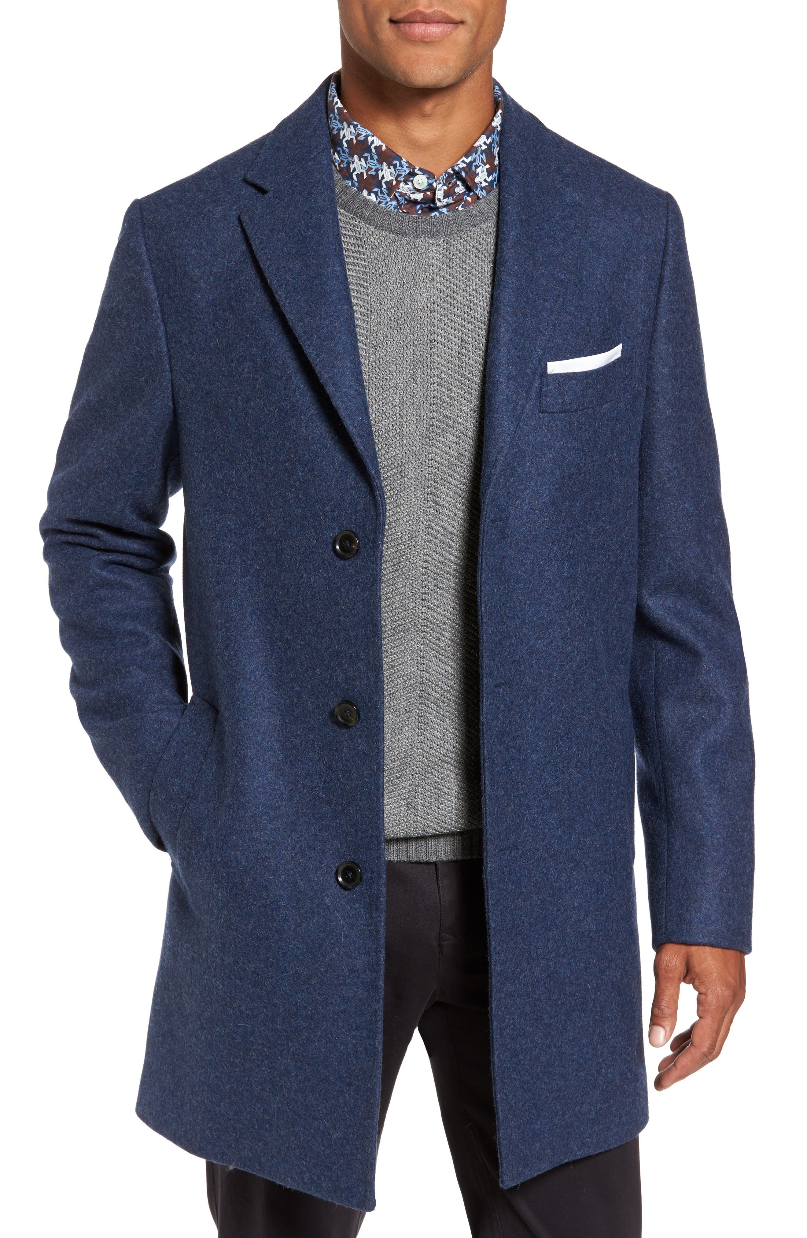 Rodd & Gunn Stag and Spey Wool Blend Coat