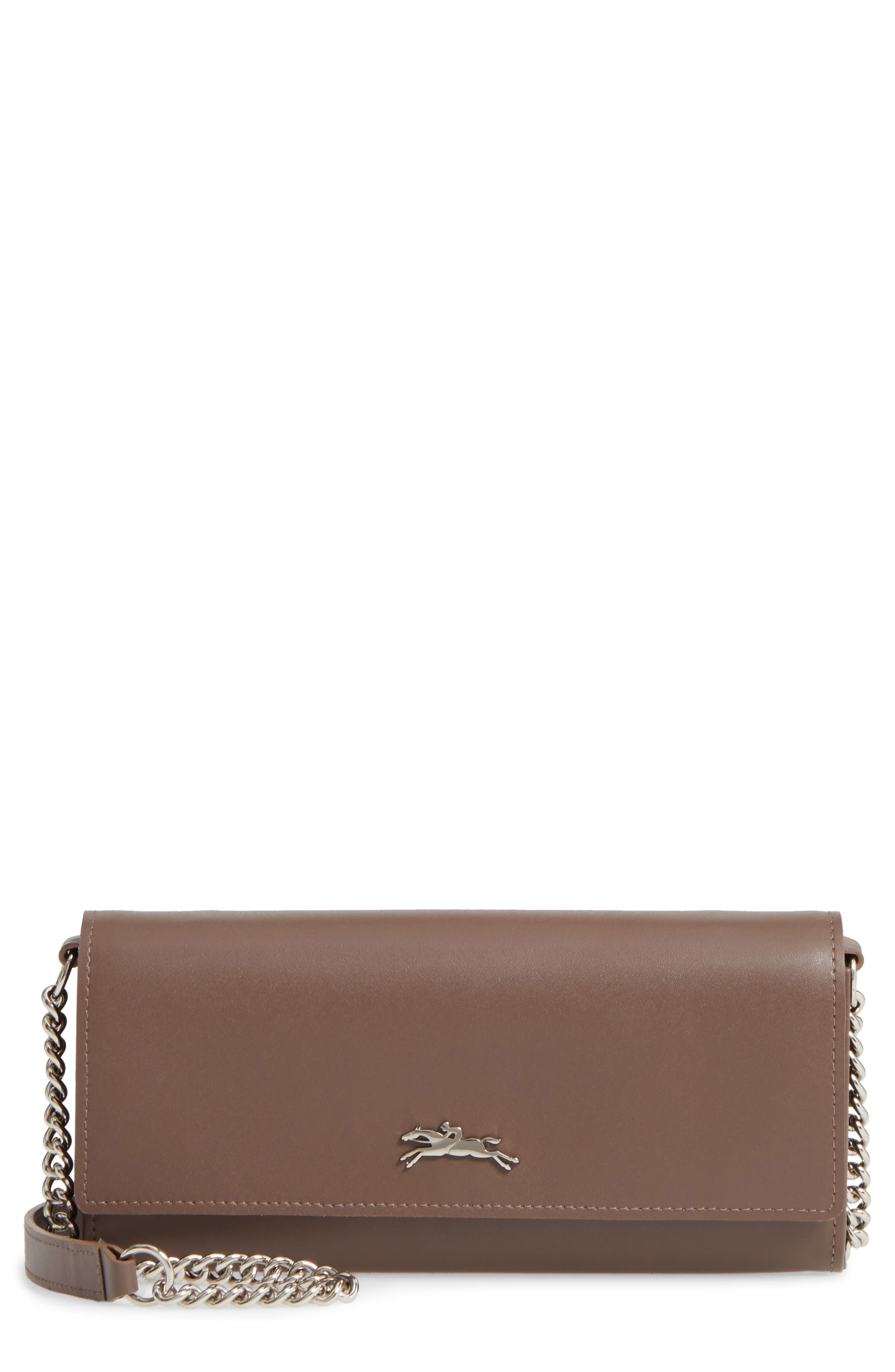 Longchamp 'Honore' Wallet on A Chain