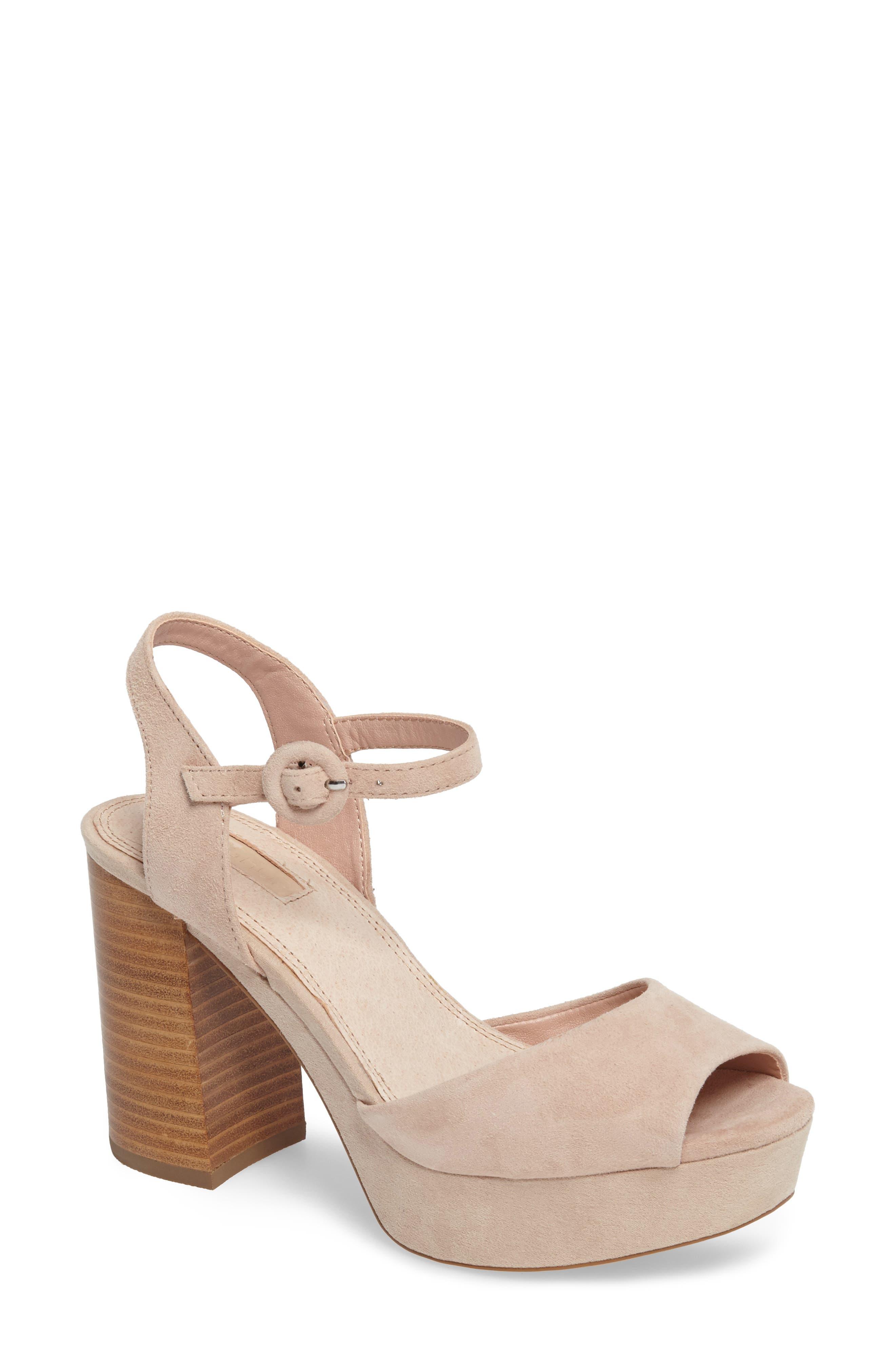 Topshop 'Lana' Chunky Platform Sandal (Women)