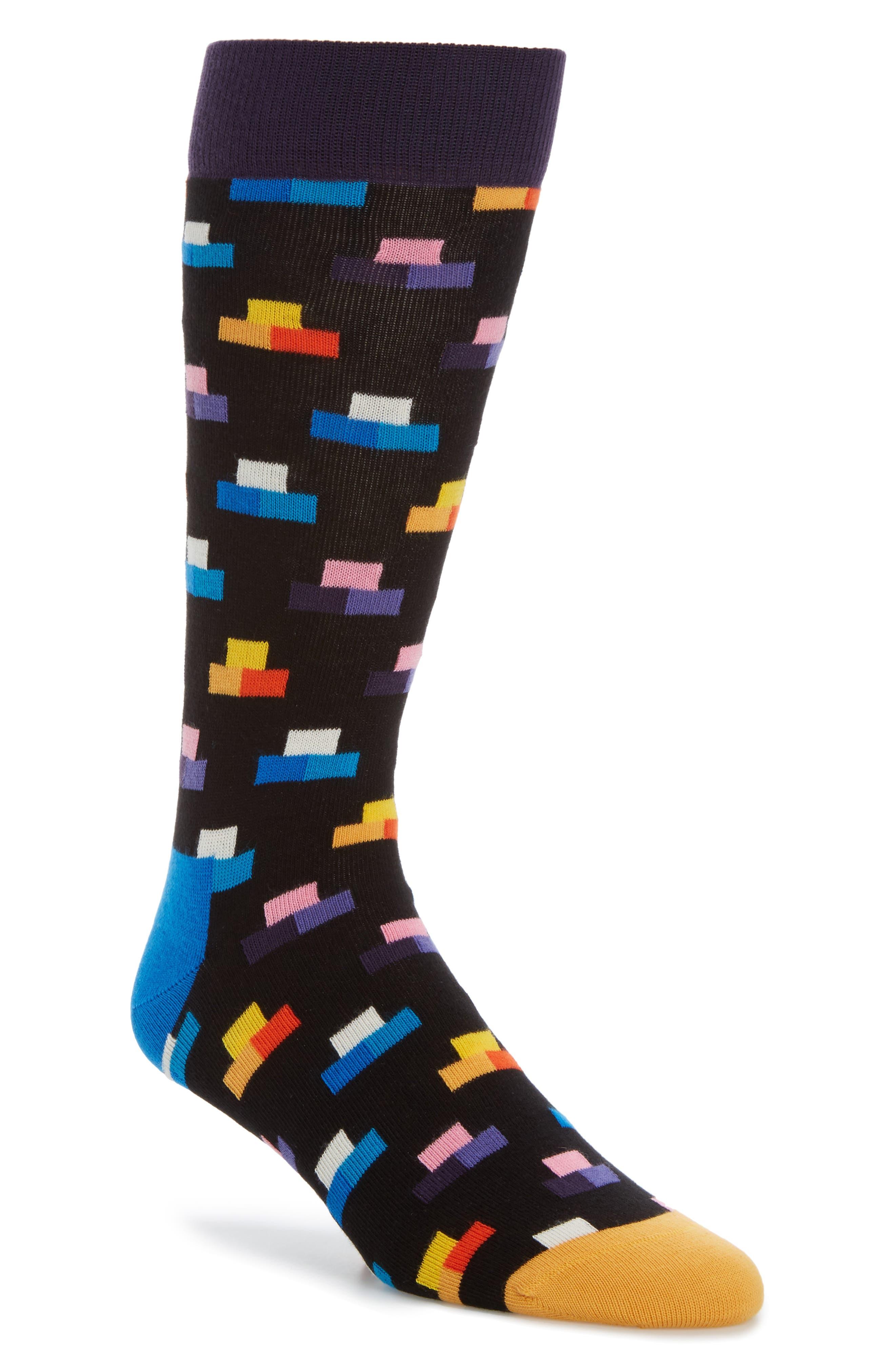 Happy Socks Digitized Pixel Socks
