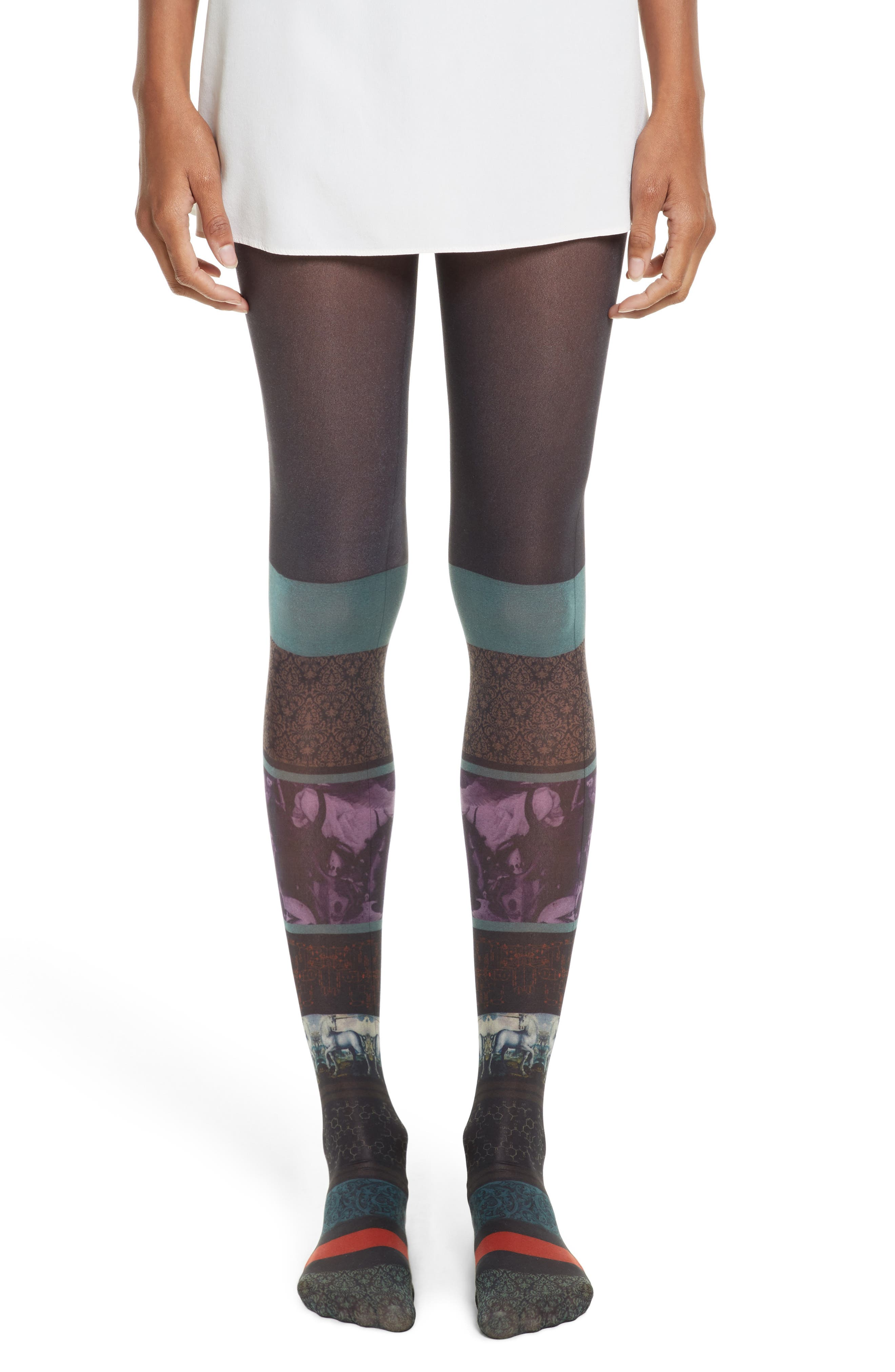 Undercover Pattern Tights