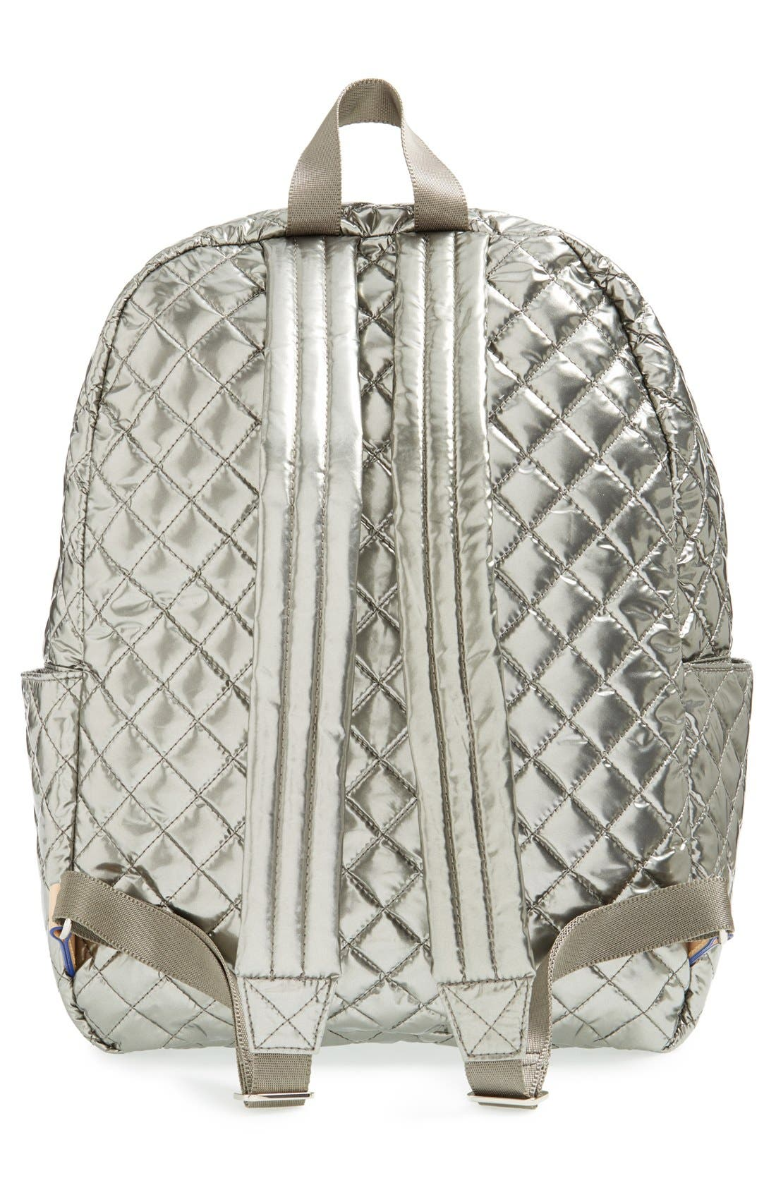 Alternate Image 3  - MZ Wallace 'Metro' Quilted Oxford Nylon Backpack
