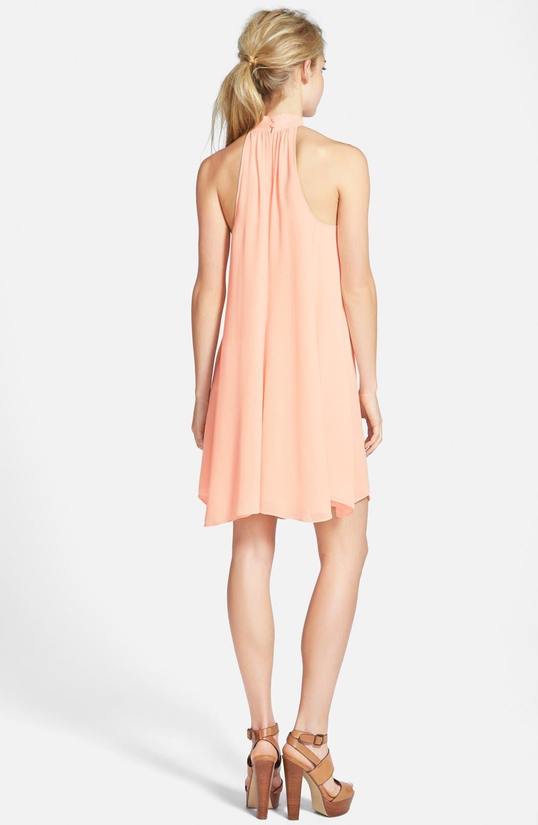 Alternate Image 2  - Tildon Halter A-Line Dress