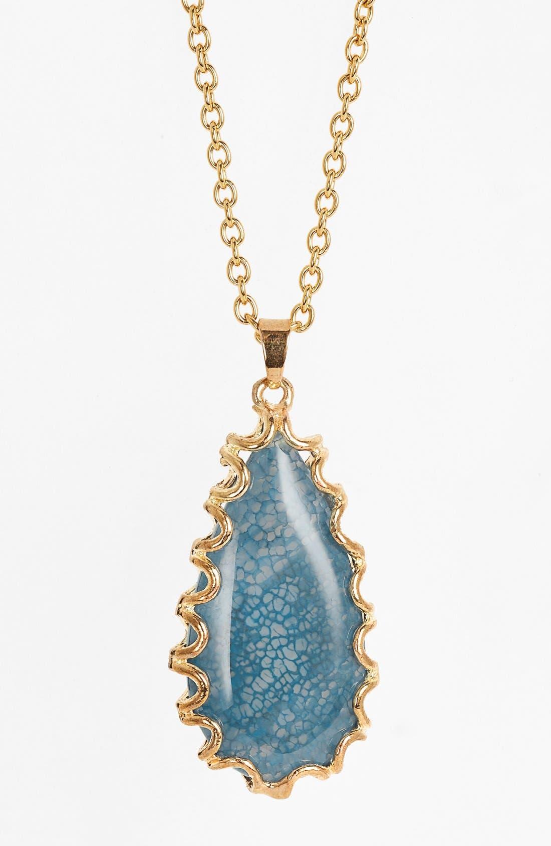 Alternate Image 2  - Nordstrom 'Sorcerer's Stone' Long Teardrop Pendant Necklace