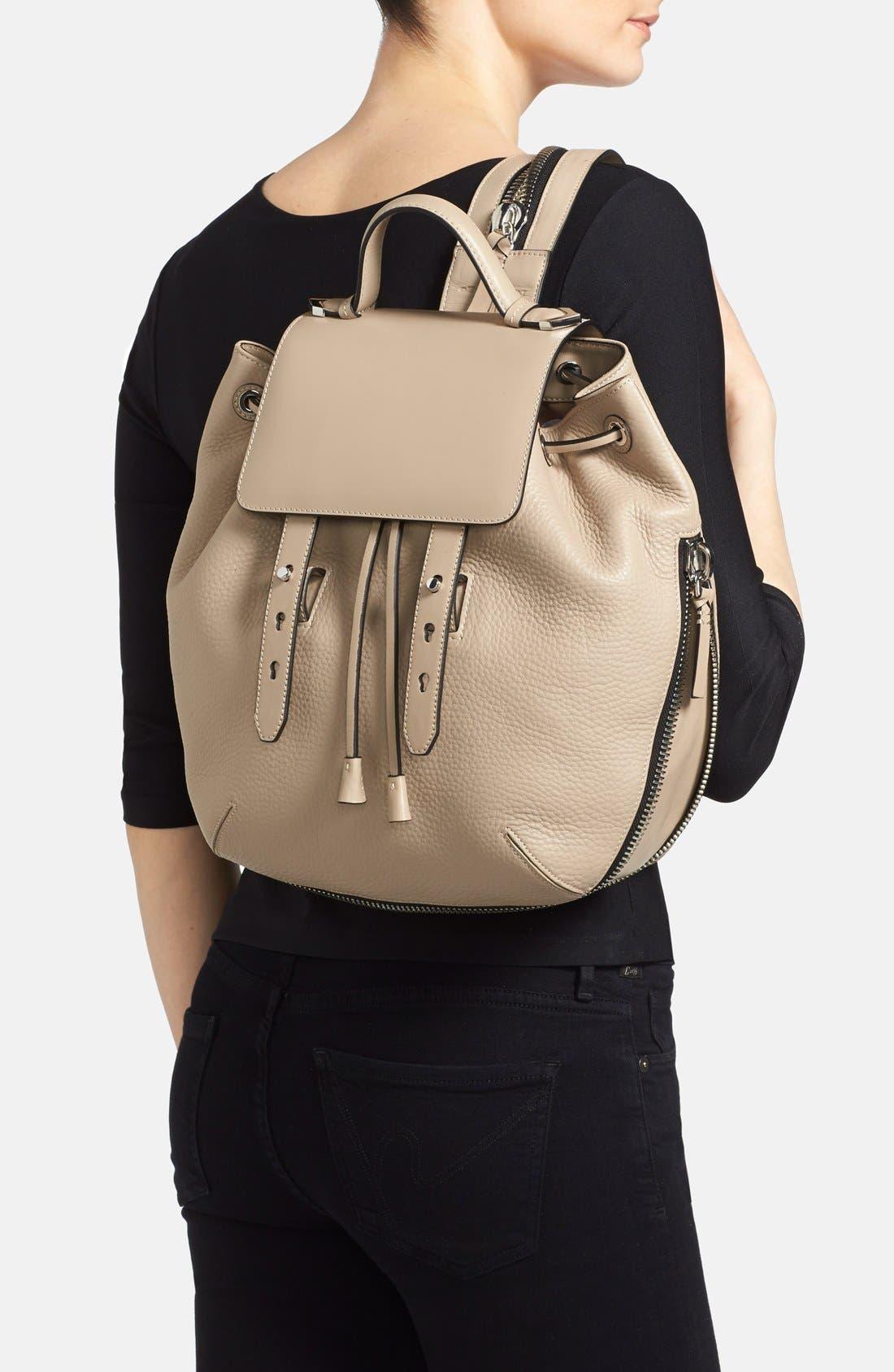 Alternate Image 2  - Mackage 'Bane' Convertible Leather Backpack