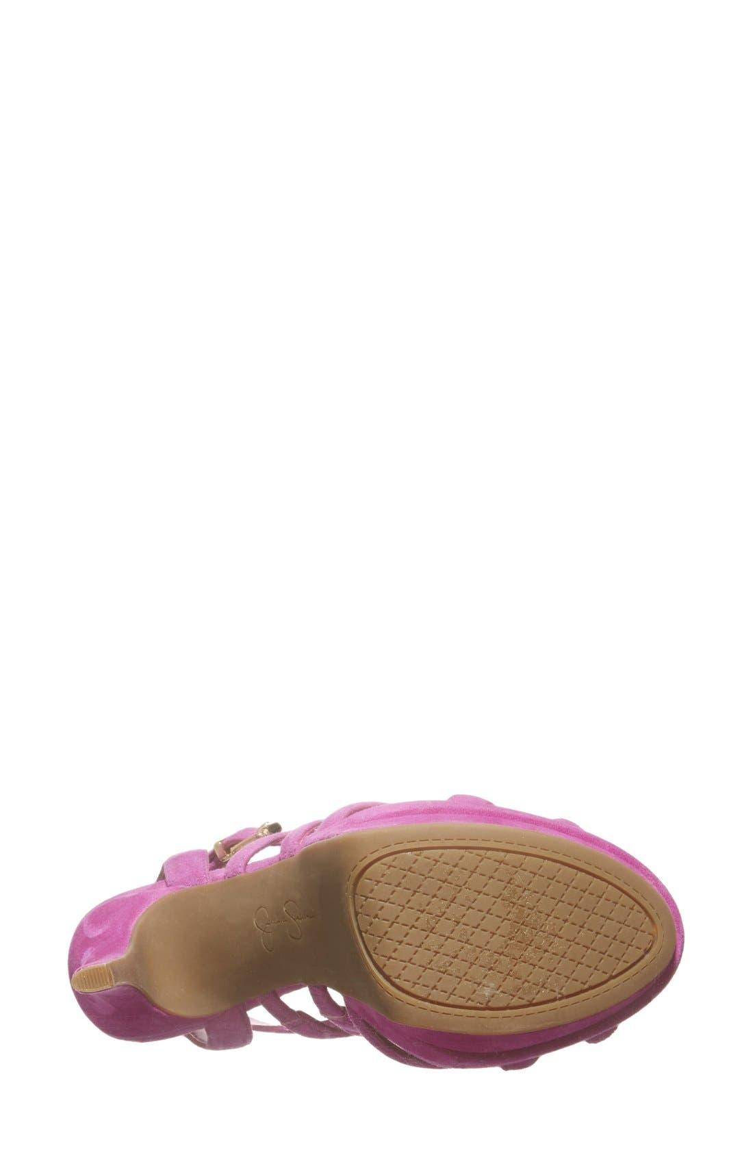 Alternate Image 4  - Jessica Simpson 'Presslie' Ankle Strap Platform Sandal (Women)