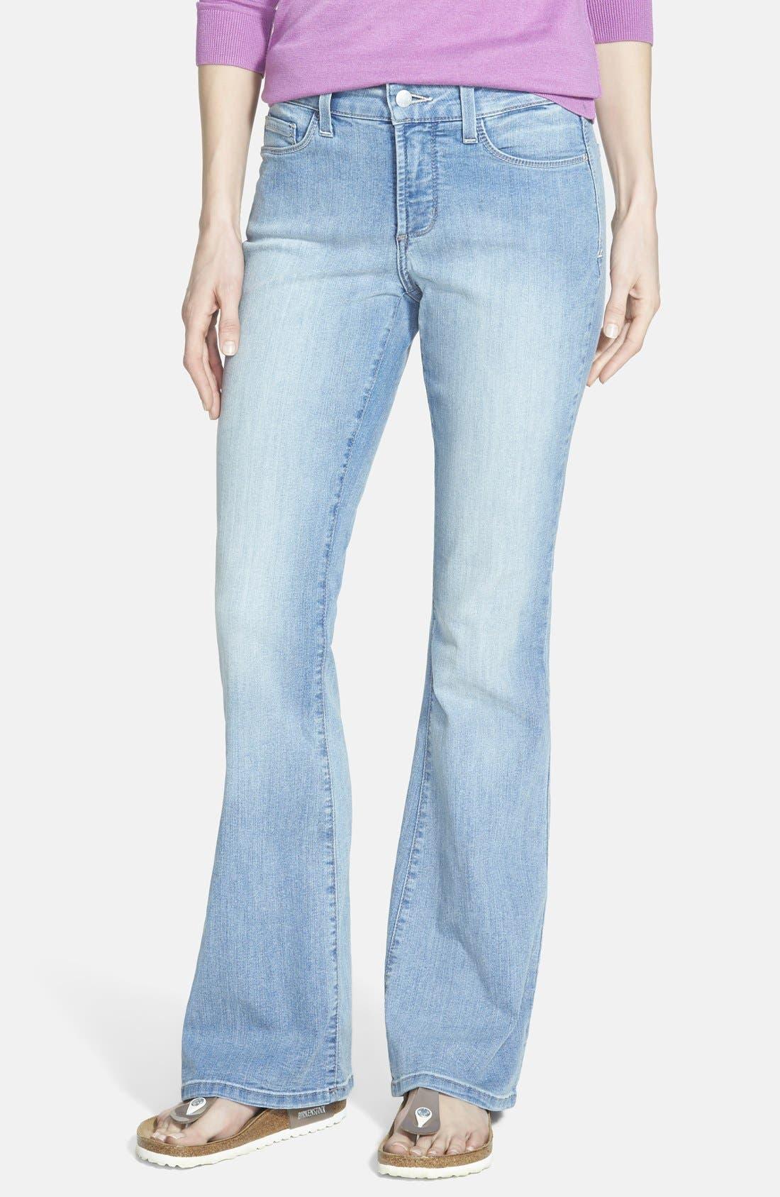 NYDJ 'Farrah' Stretch Flare Leg Jeans (Palos Verdes) (Regular ...
