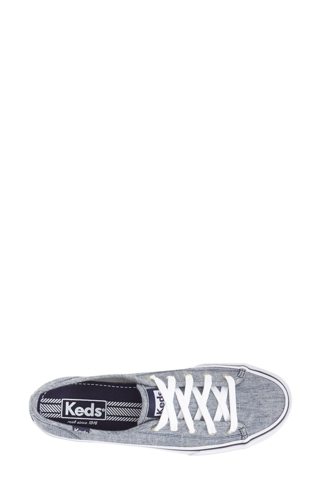 Alternate Image 3  - Keds® 'Double Up - Linen' Sneaker (Women)