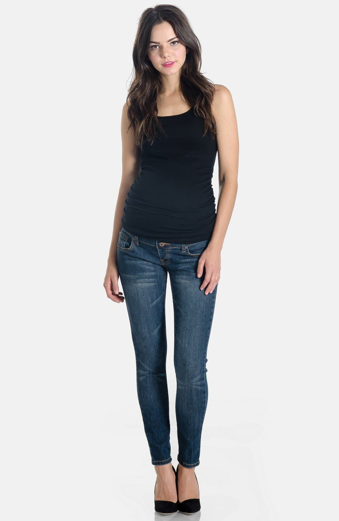 Lilac Clothing Skinny Maternity Jeans
