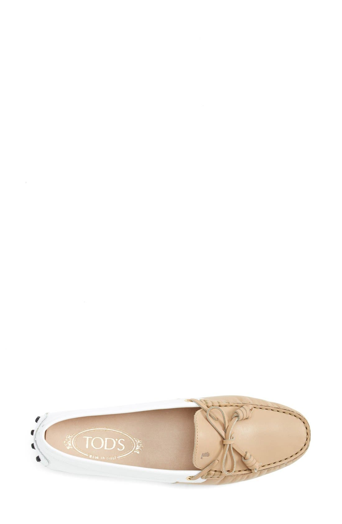 Alternate Image 3  - Tod's 'Gommini - Curly' Leather Driving Moccasin (Women)