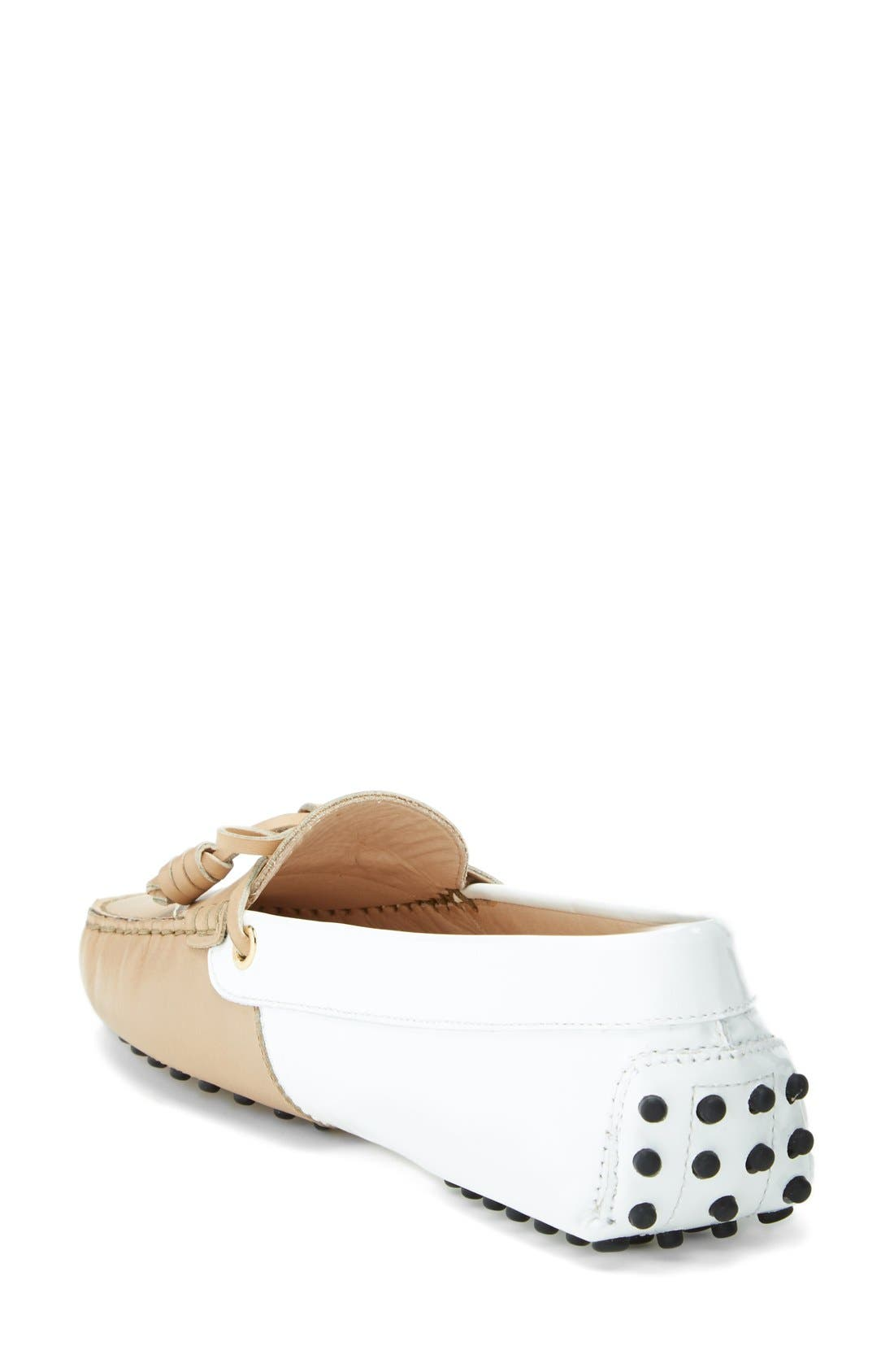 Alternate Image 2  - Tod's 'Gommini - Curly' Leather Driving Moccasin (Women)