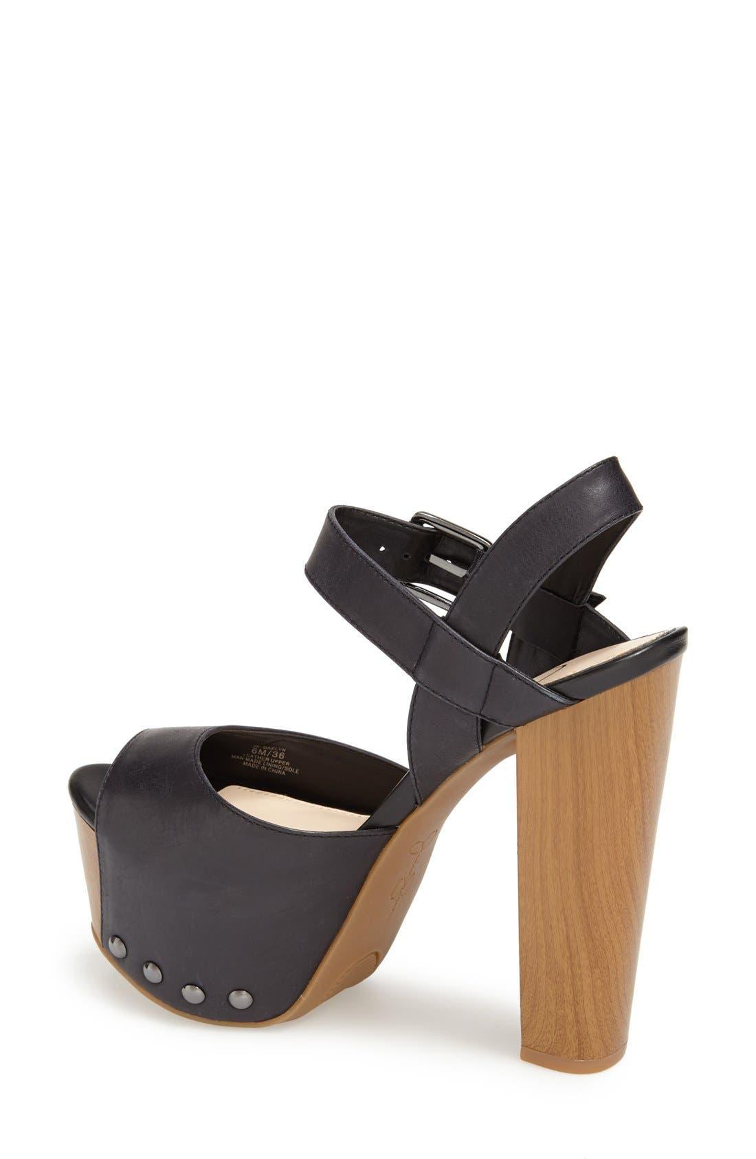 Alternate Image 2  - Jessica Simpson 'Daelyn' Studded Leather Platform Sandal (Women)