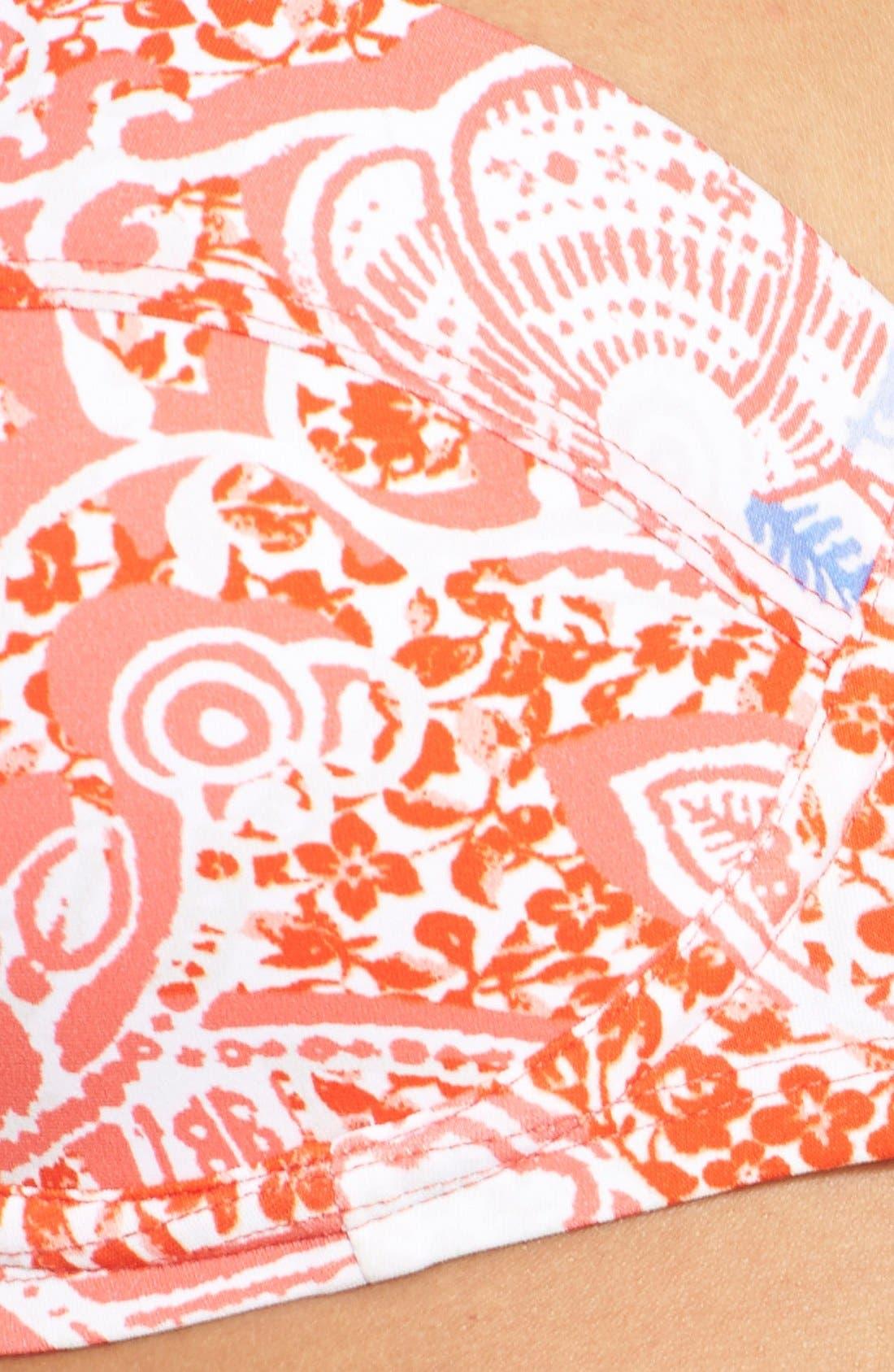 Alternate Image 5  - Tory Burch 'Emmarentia' Underwire Bustier Bikini Top