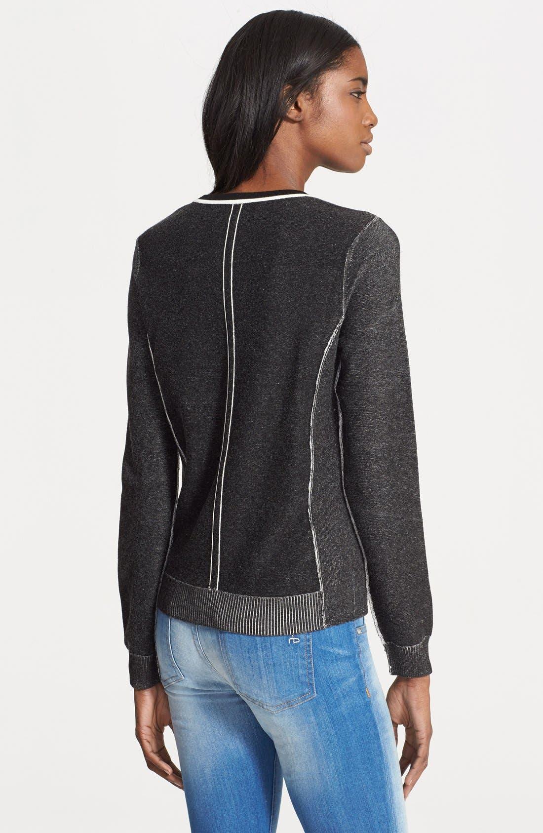 Alternate Image 2  - rag & bone 'Taylor' Sweater