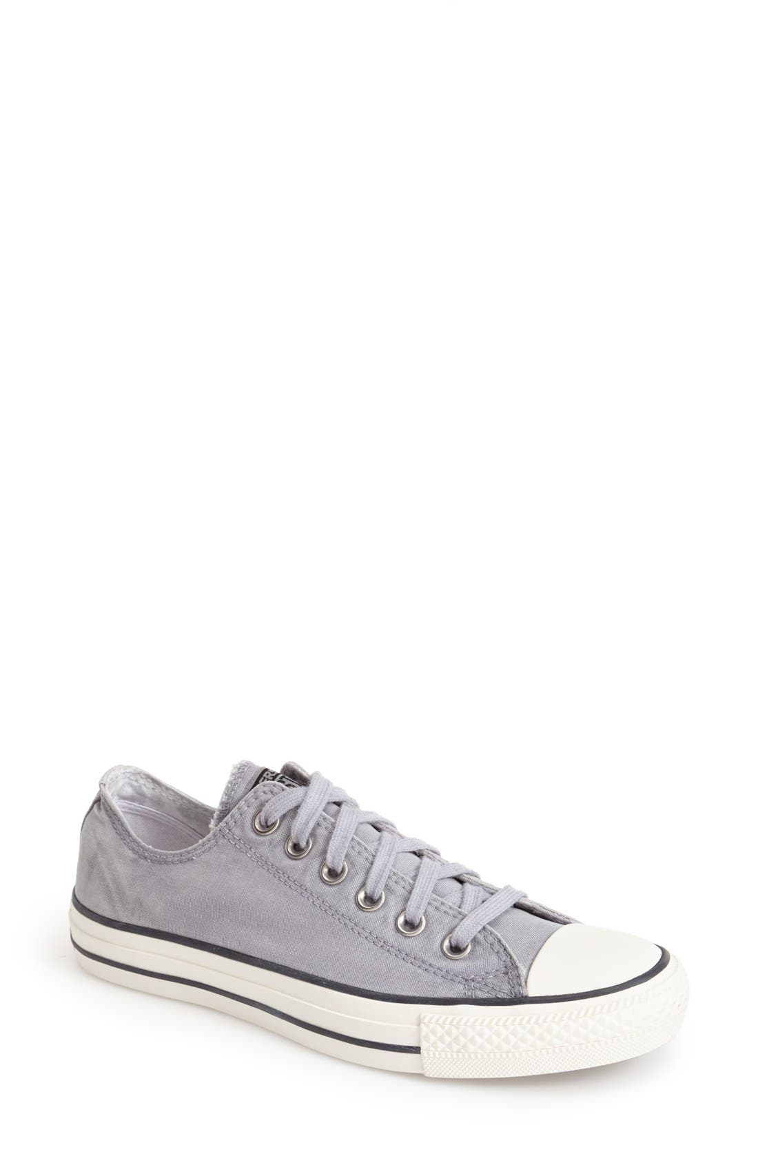 Alternate Image 1 Selected - Converse Chuck Taylor® All Star® 'White Wash Ox' Sneaker (Women)