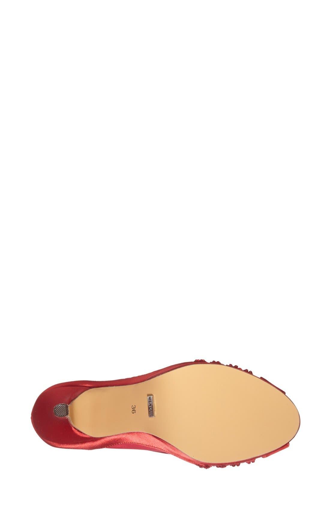 Alternate Image 4  - Menbur 'Balcones' Peep Toe Pump (Women)