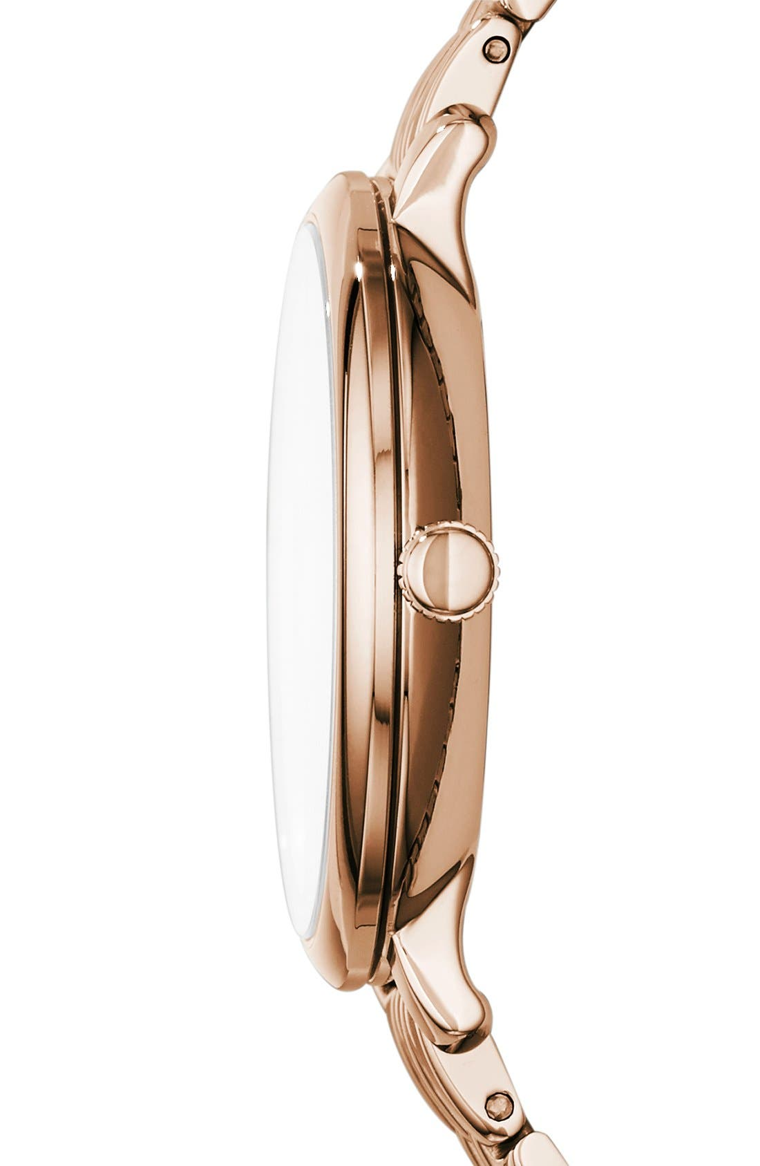 Alternate Image 2  - Fossil 'Jacqueline' Round Bracelet Watch, 36mm
