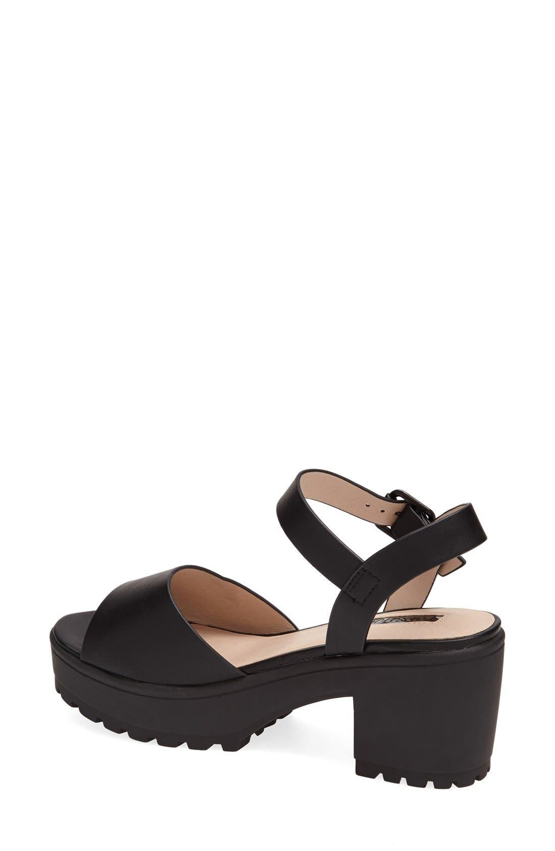 Alternate Image 2  - Topshop 'Hatty' Ankle Strap Sandal (Women)