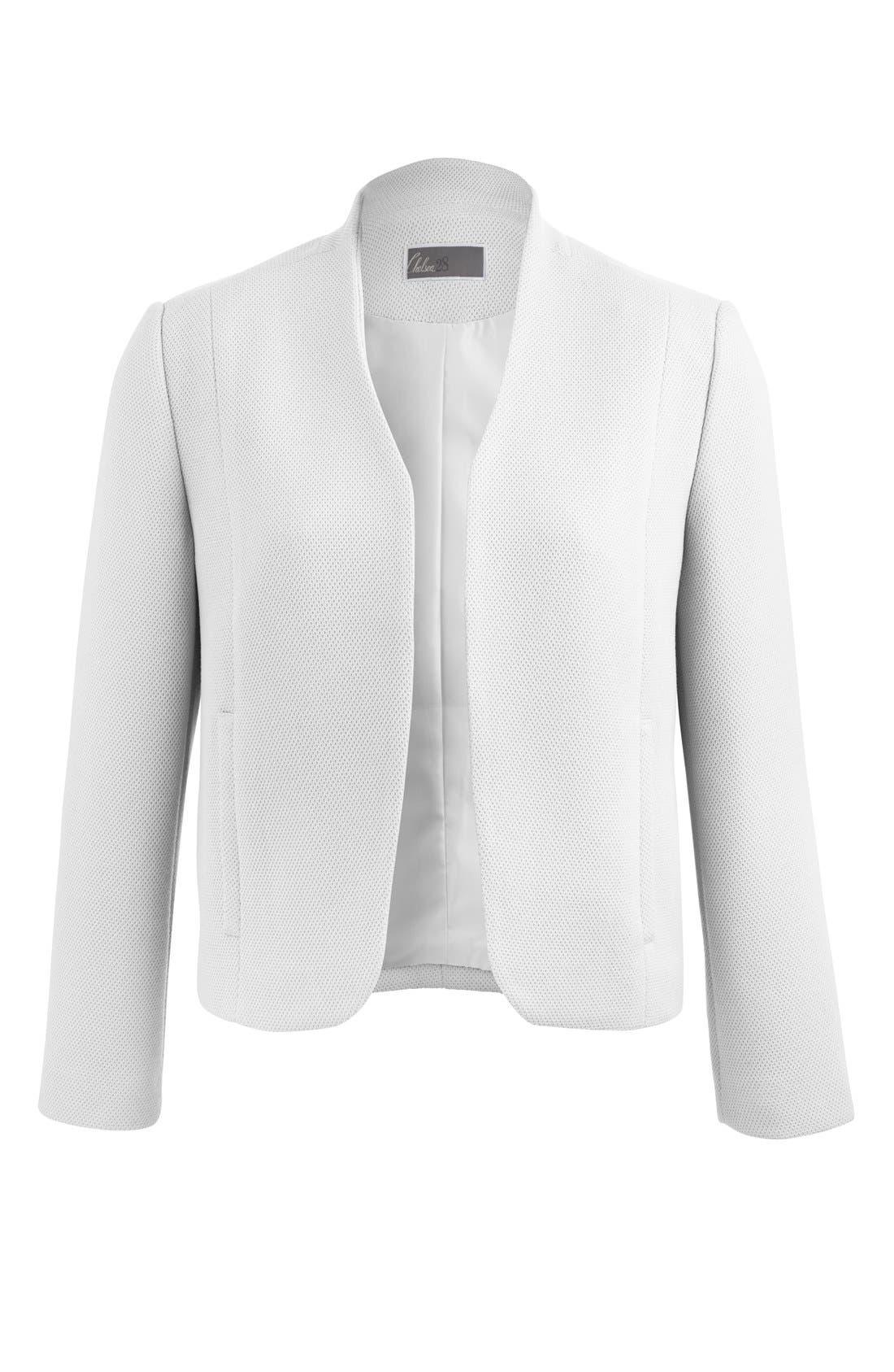 Alternate Image 12  - Chelsea28 Textured Shell Jacket