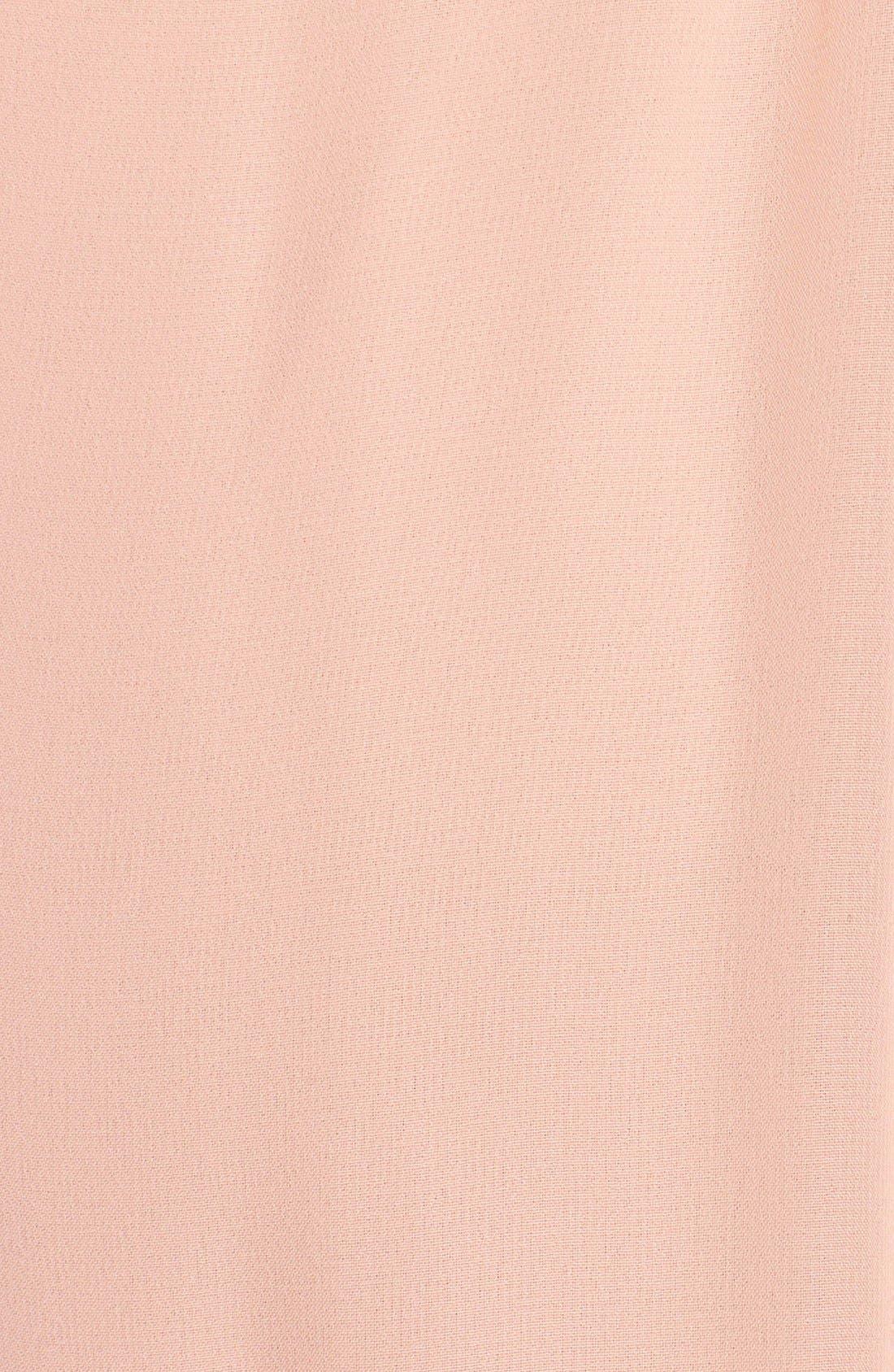 Alternate Image 3  - nouvelle AMSALE 'Jordan' Open Back Chiffon Halter Gown