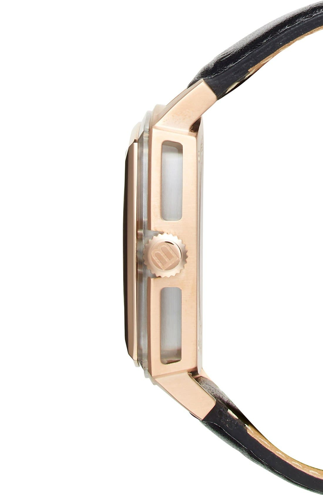 Alternate Image 3  - Breil 'Orchestra' Square Automatic Watch, 42mm