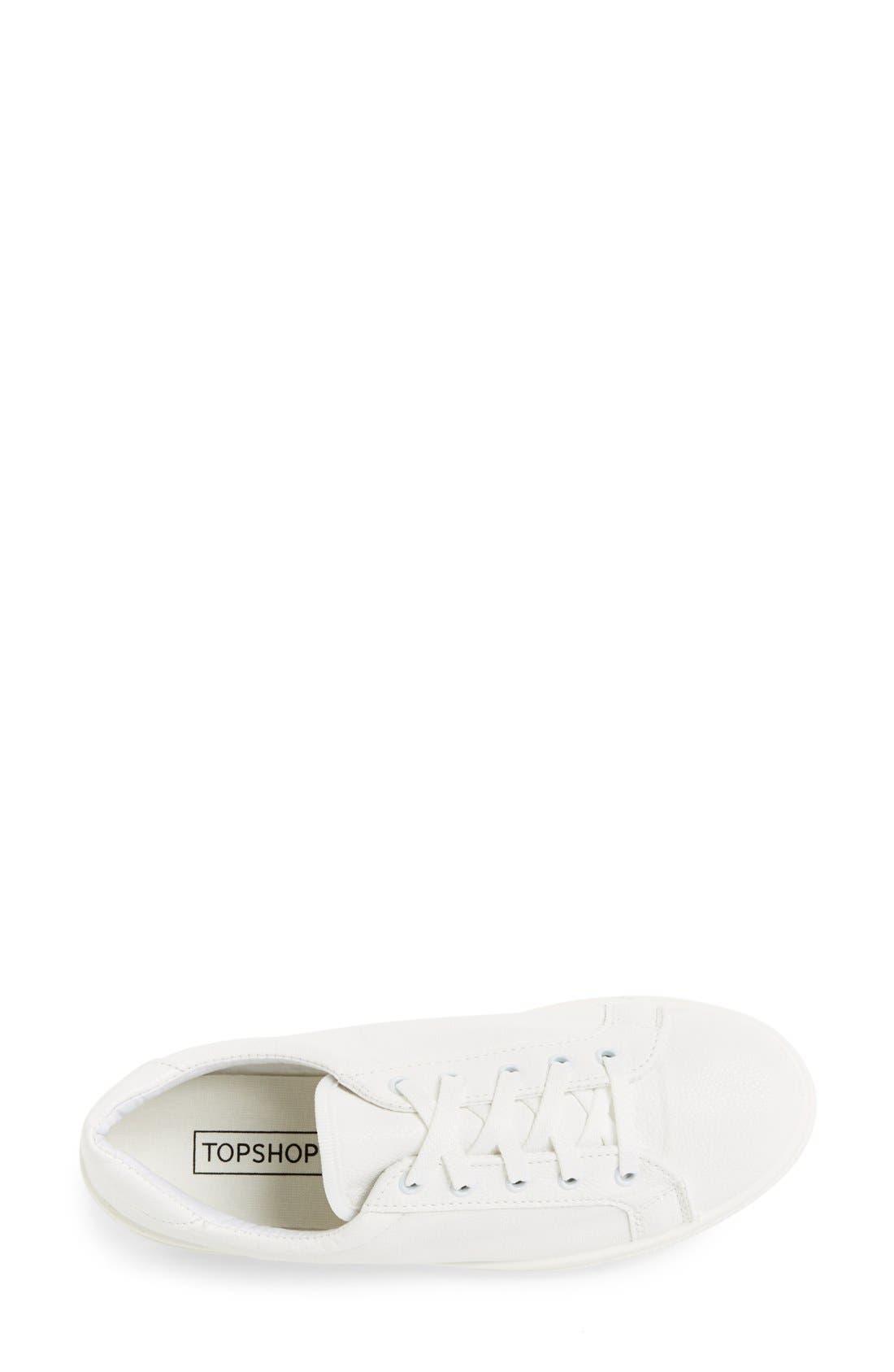 Alternate Image 3  - Topshop 'Copenhagen' Sneaker (Women)
