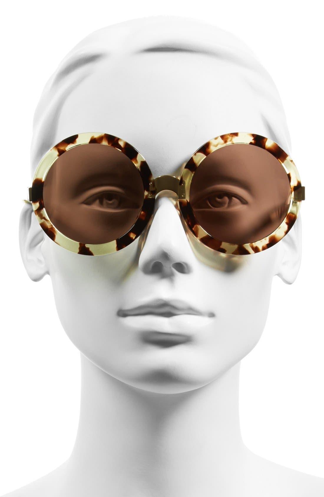 Alternate Image 2  - Wildfox 'Malibu' 56mm Round Sunglasses