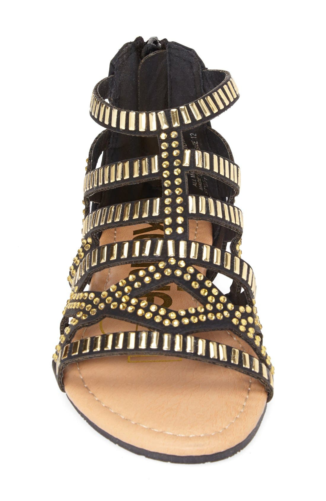 Alternate Image 3  - kensie girl Studded Strap Sandal (Toddler, Little Kid & Big Kid)