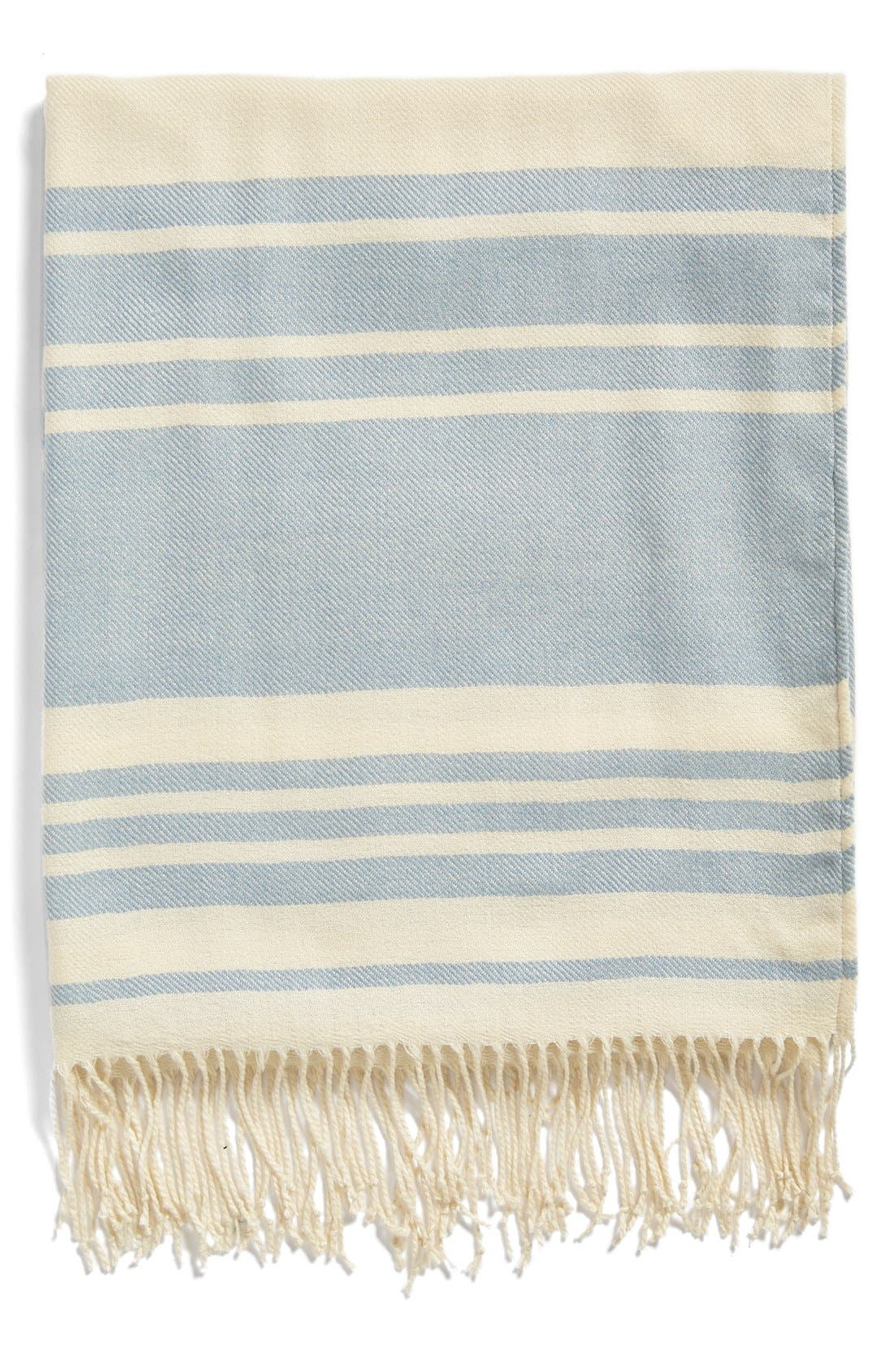 Alternate Image 1 Selected - Nordstrom at Home Beach Stripe Throw