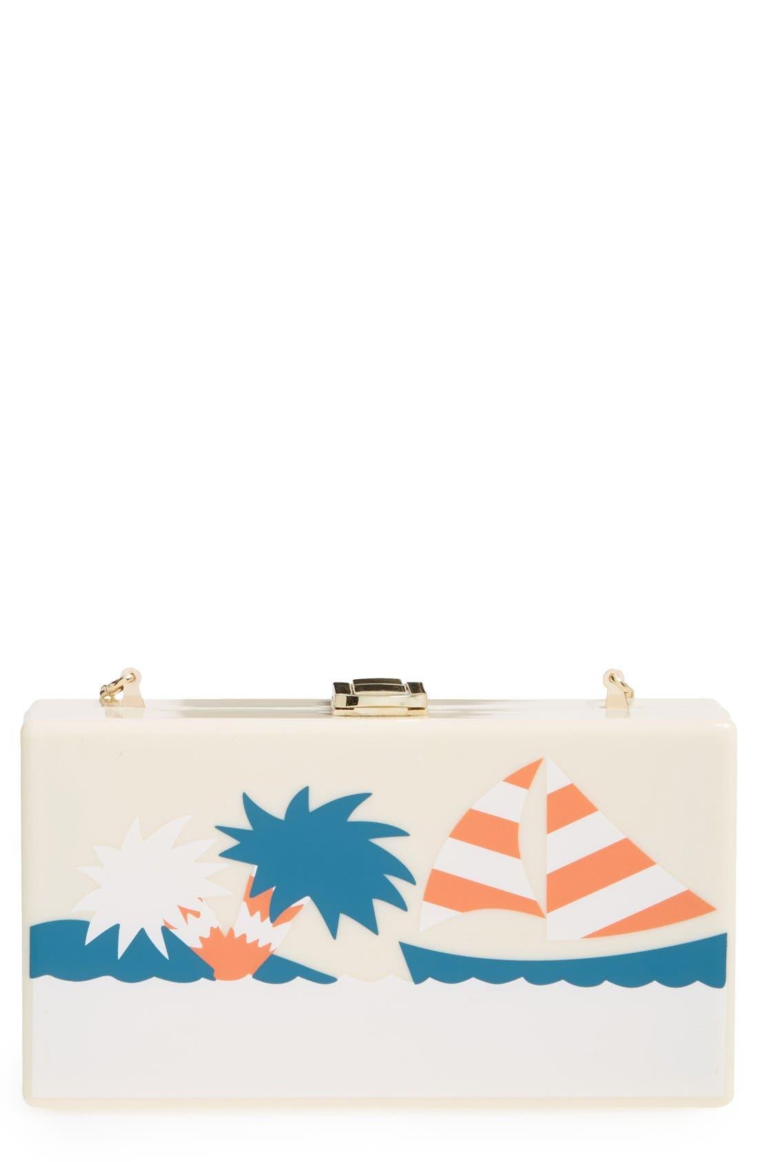 Alternate Image 1 Selected - Natasha Couture 'Island' Clutch