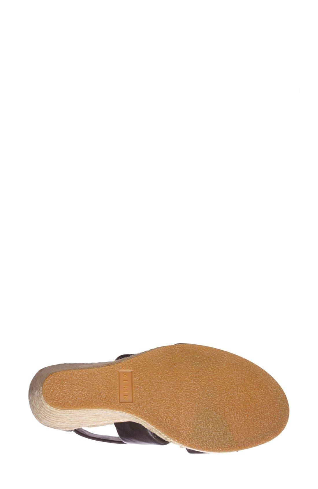 Alternate Image 4  - Aerin 'Jayden' Espadrille Wedge Sandal (Women)