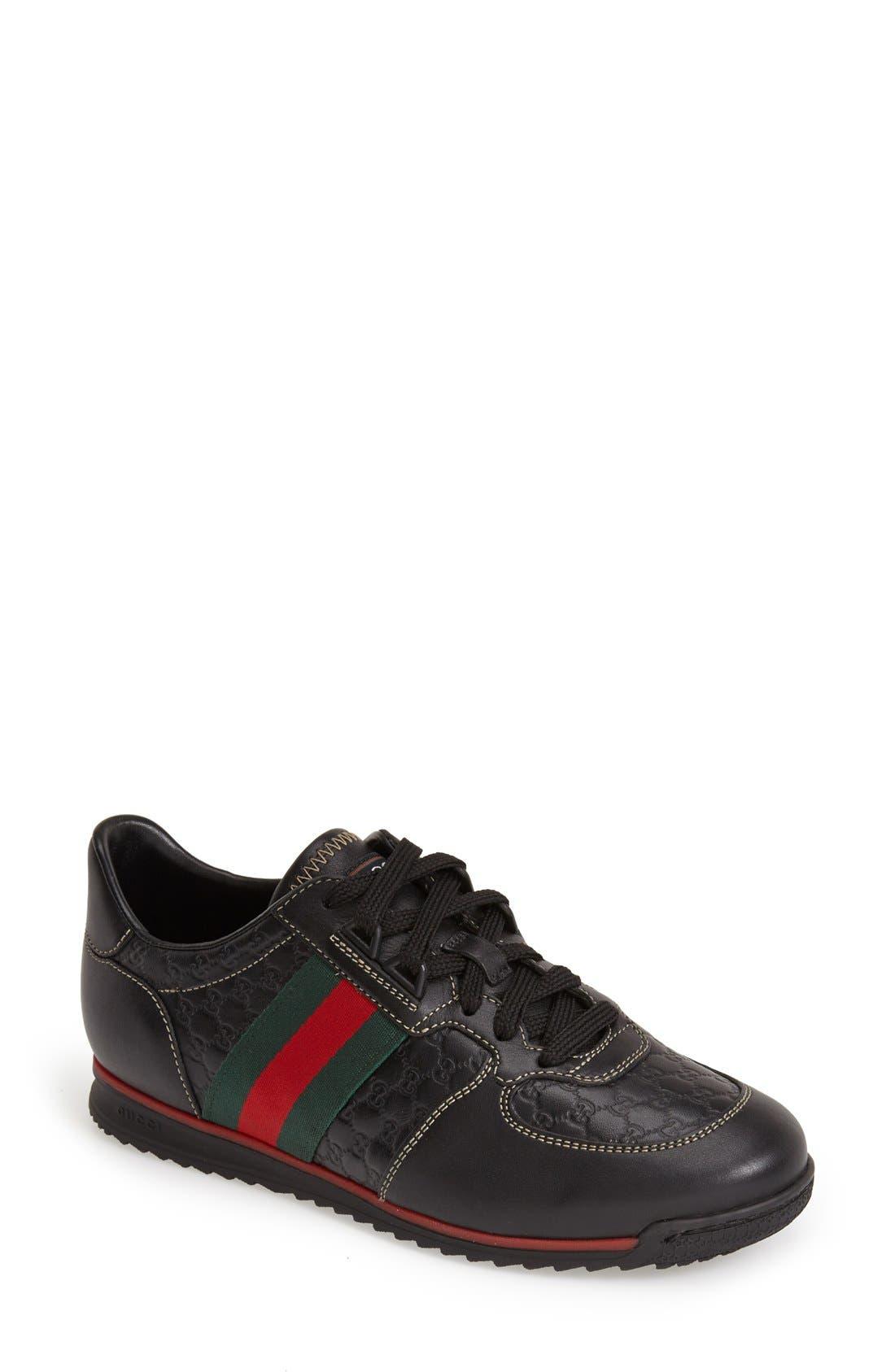 Alternate Image 1 Selected - Gucci Sport Sneaker (Women)
